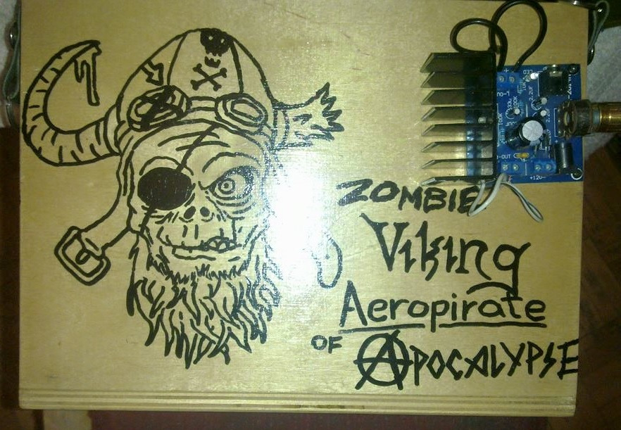 Zombie Viking areopirate of Apocalypse