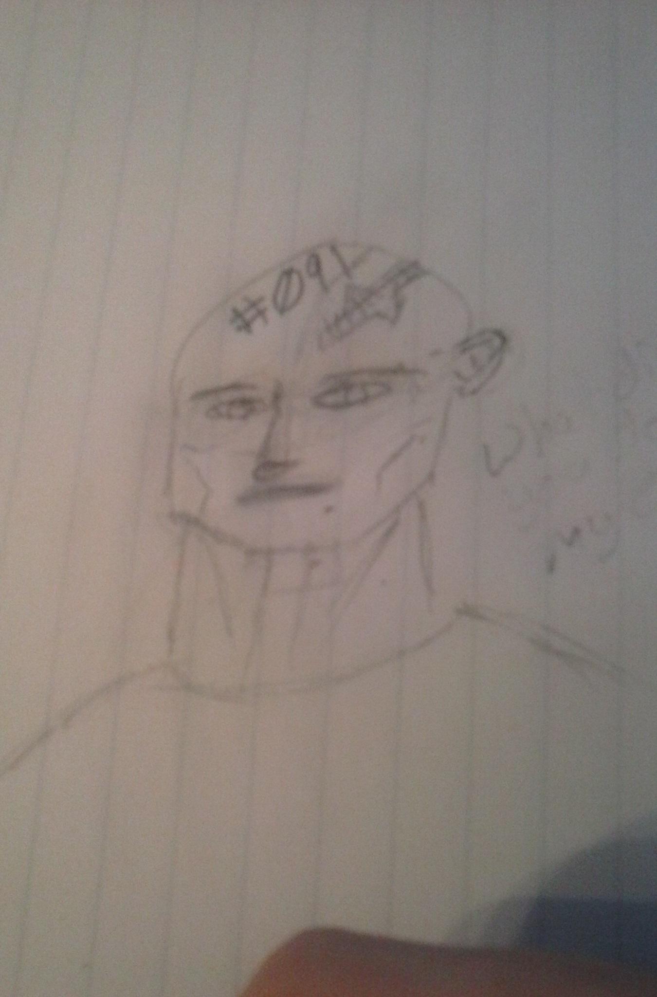A very rough sketch