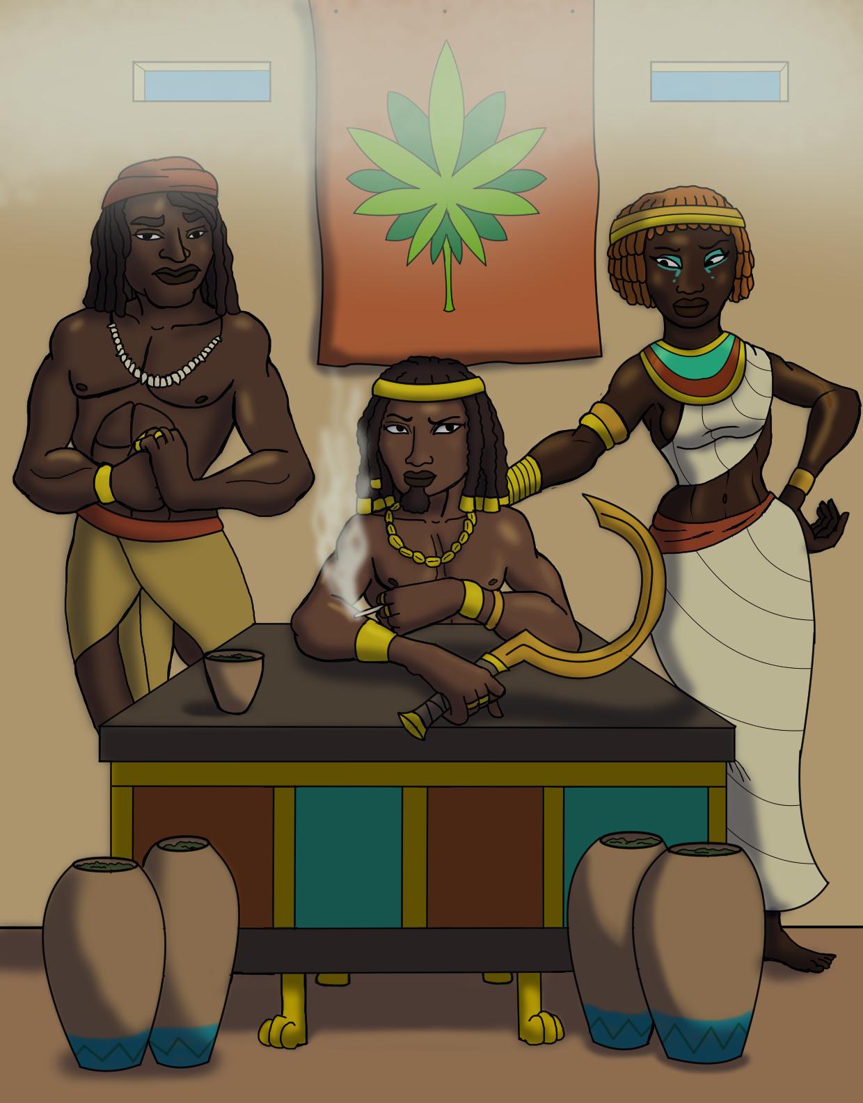 The Ganja Pharaoh