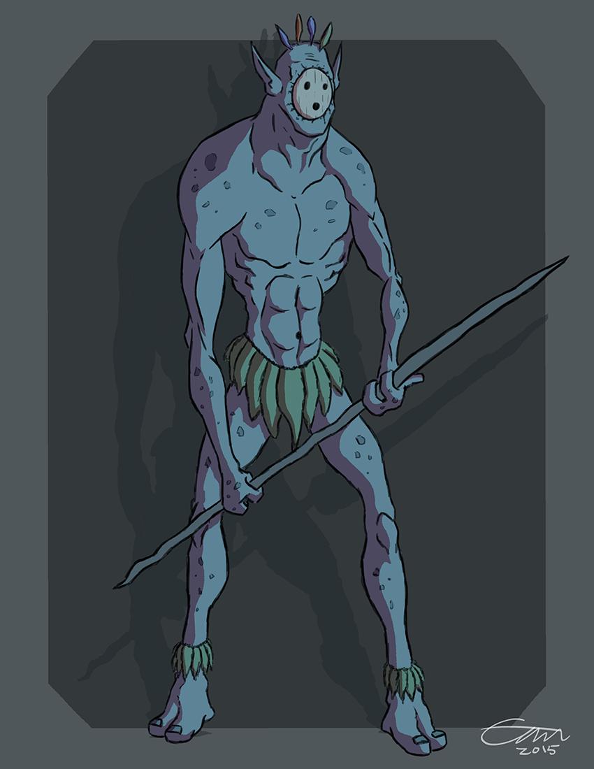 Tribal Monster