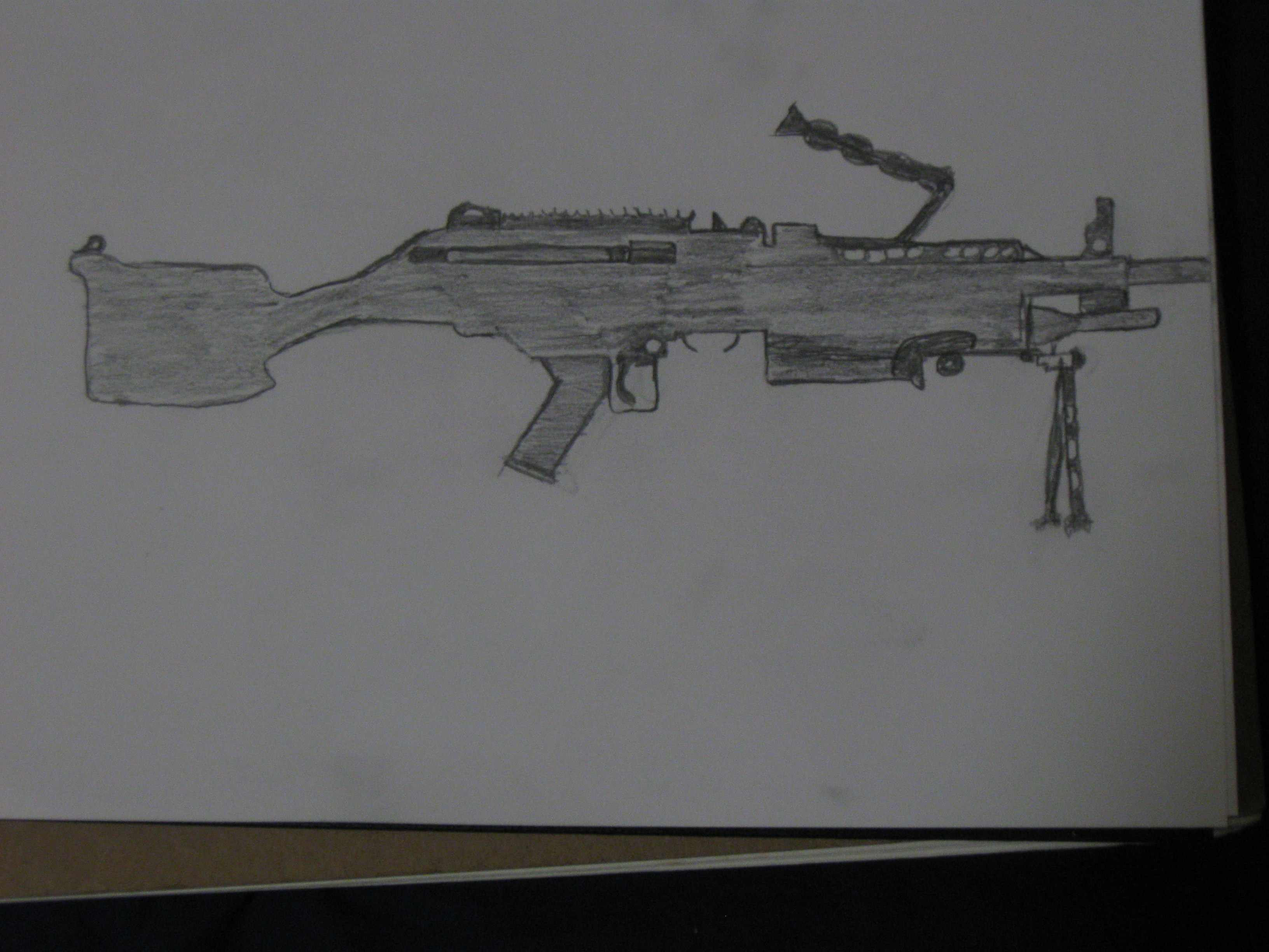 M249 Squad Automatic Weapon --SAW--