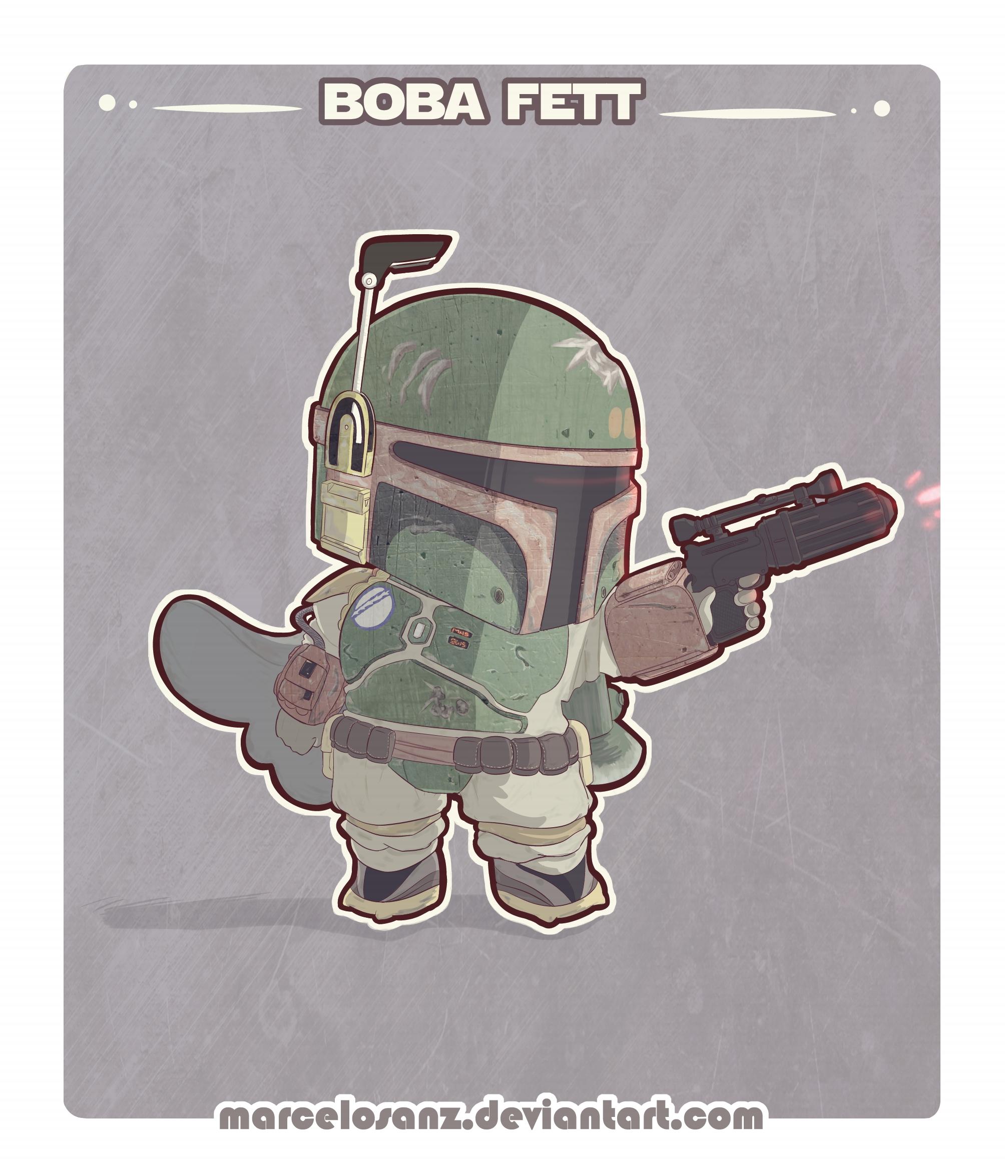 Boba Fett chibi