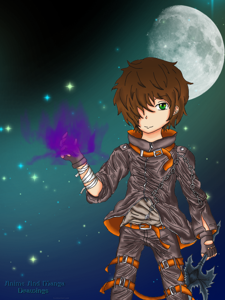 Shiro as Dark Flame Master
