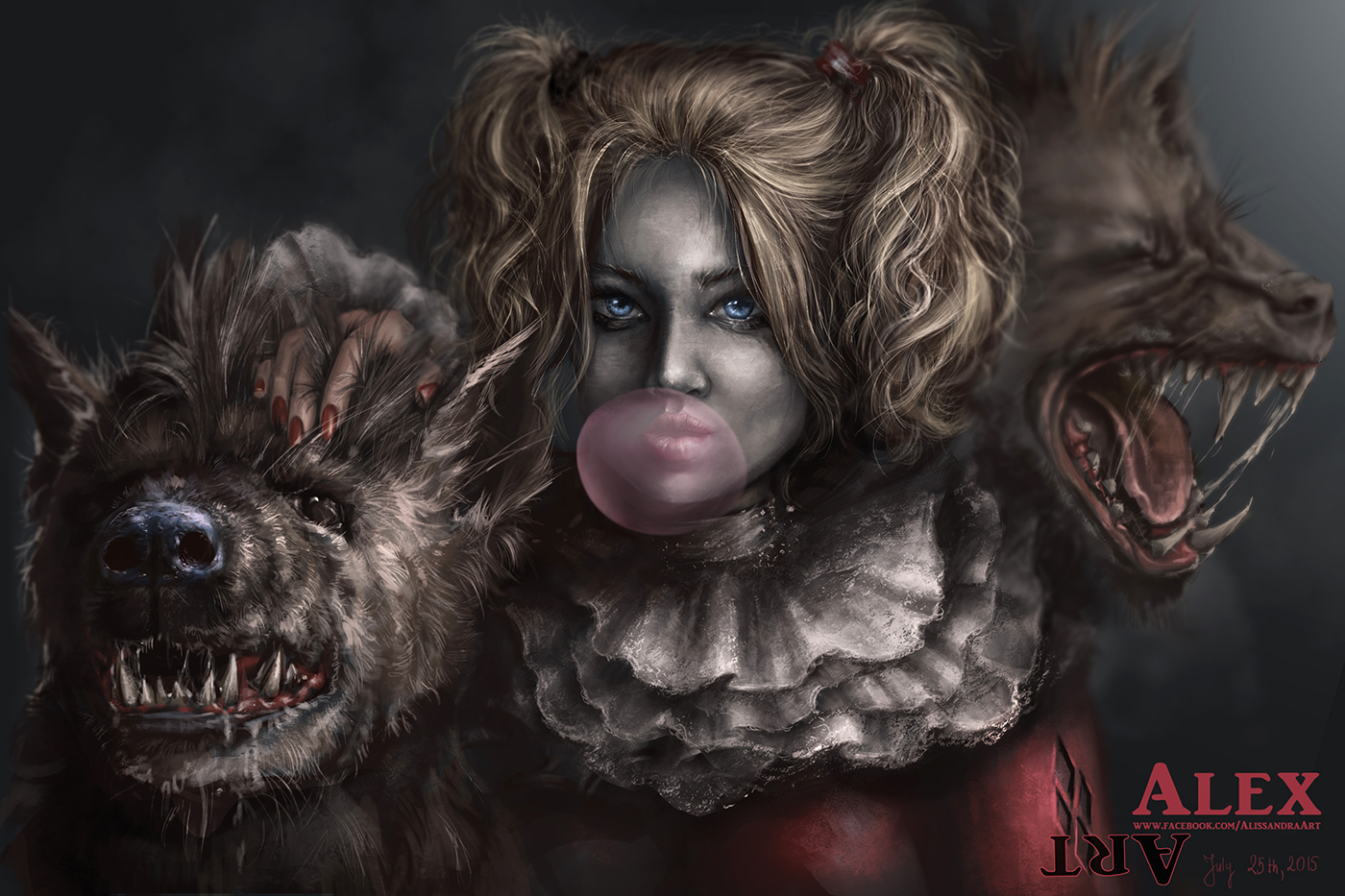 Harley and her pets