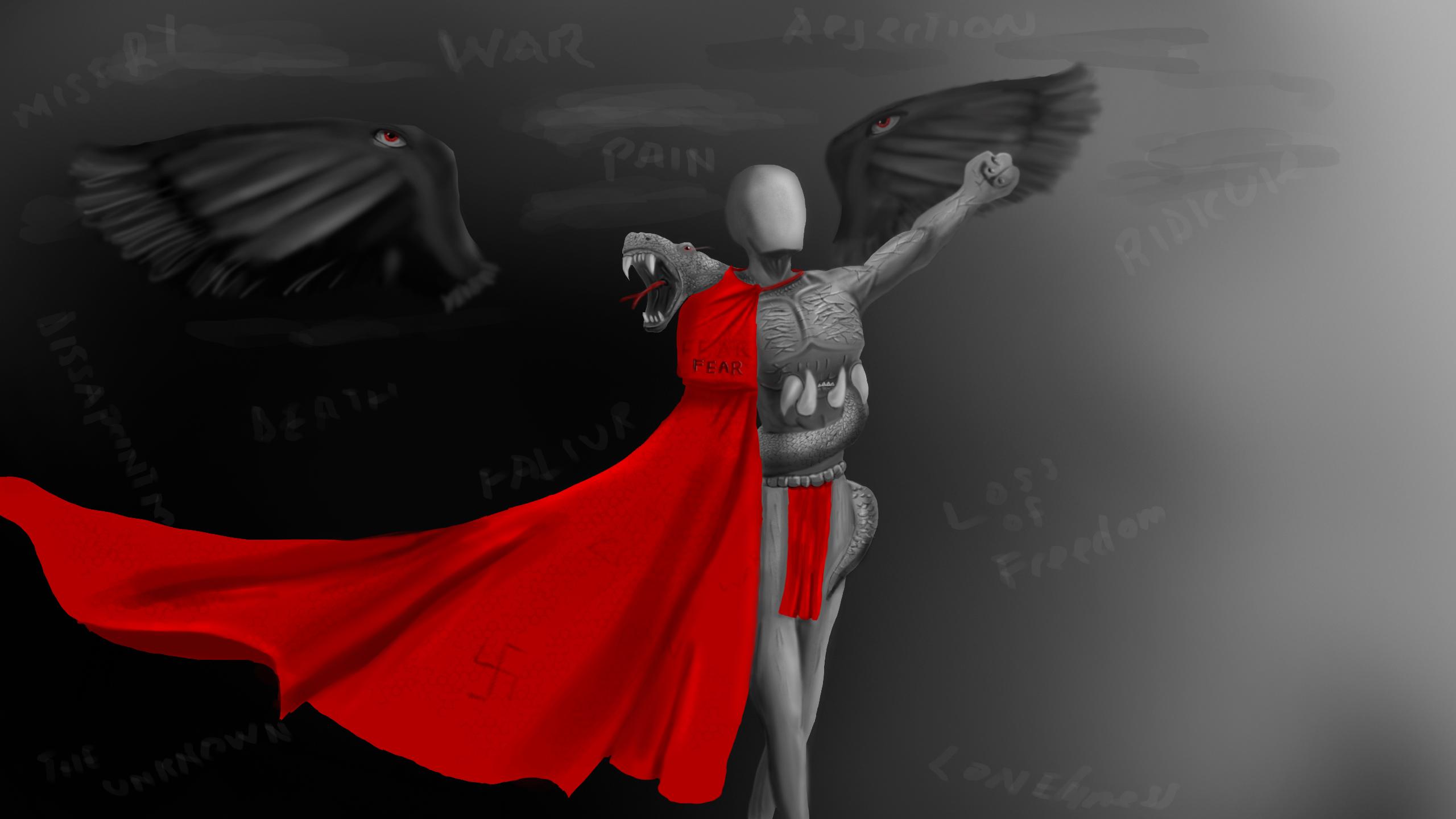 Ireul, Angel Of Fear