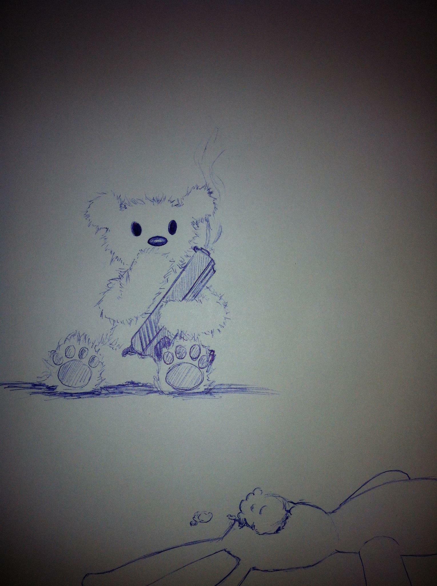 Teddy Plays With Bunny