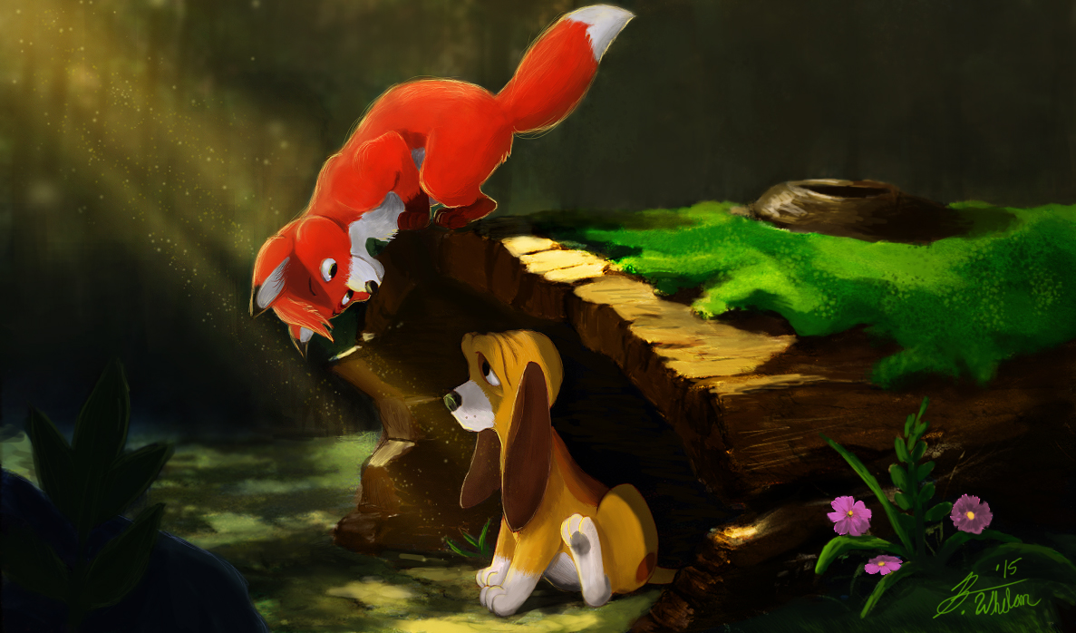Tod and Copper (The Fox and the Hound)
