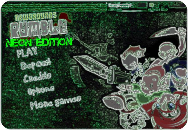 Newgrounds rumble neon edition