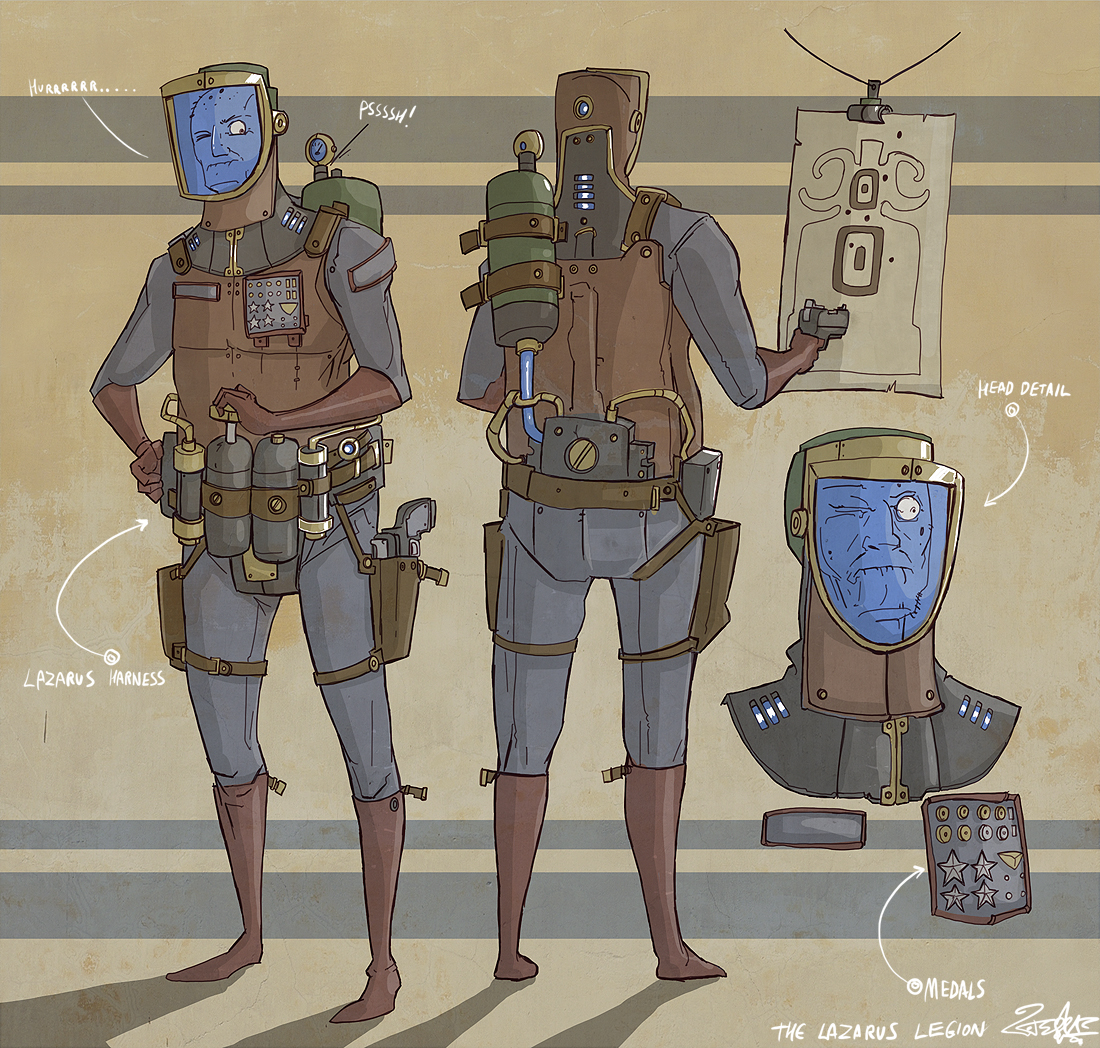 the lazarus legion!