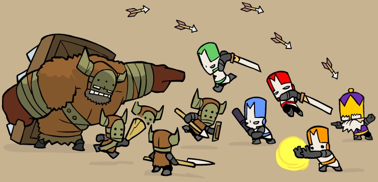 castle crashers vs. barbarians