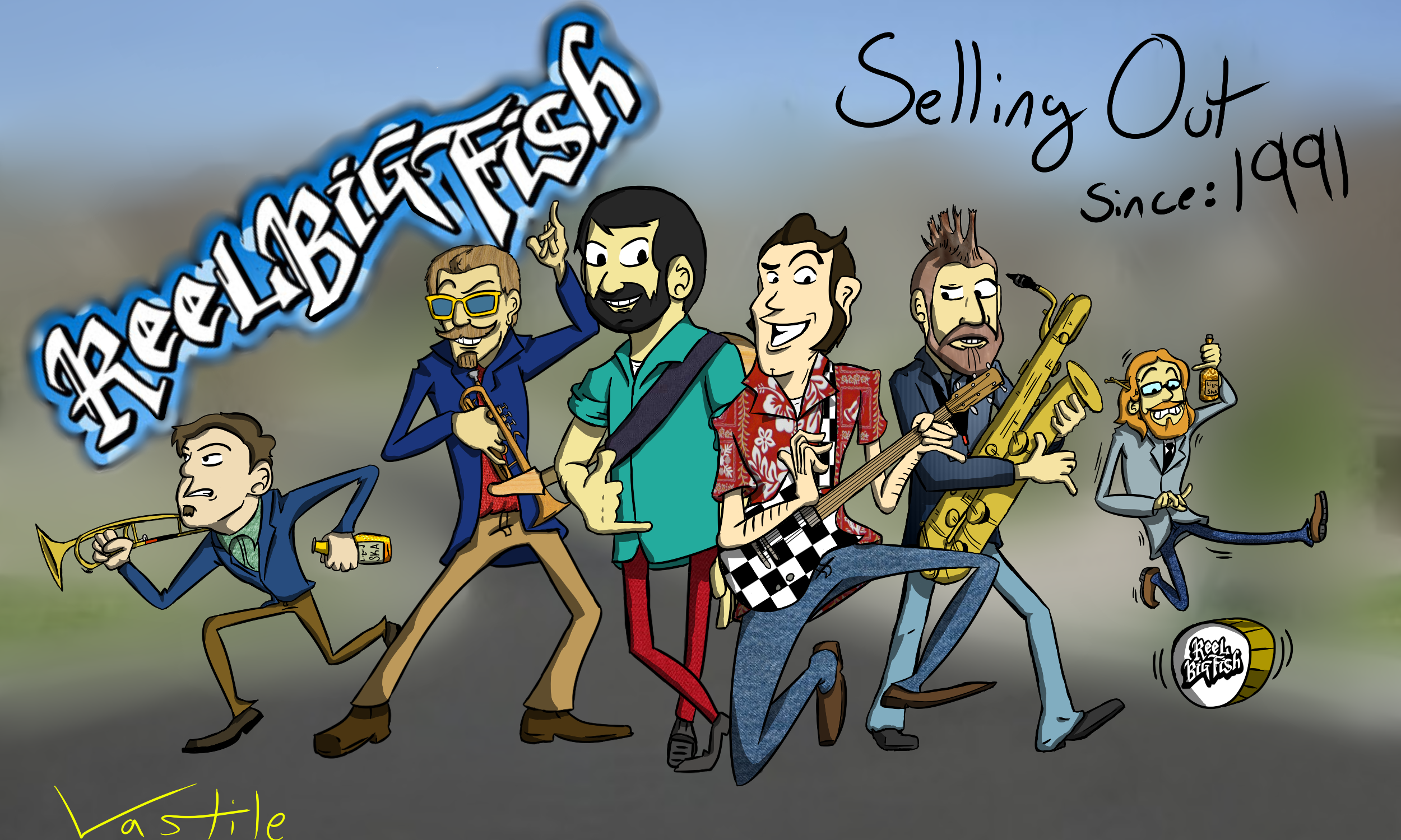Reel big fish by vastile on newgrounds for Reel big fish