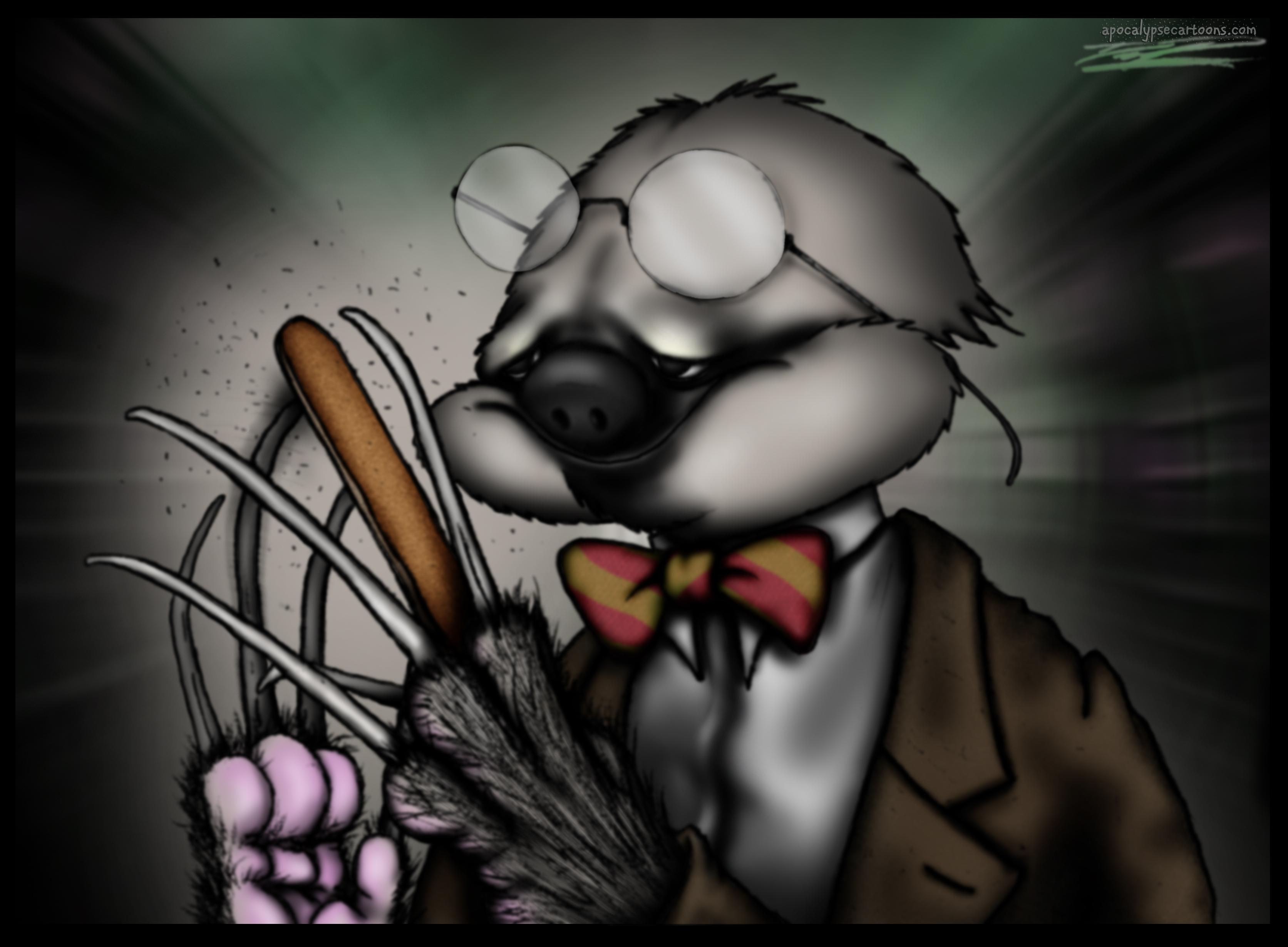 The Emerying of Professor Longnails Van Sloth