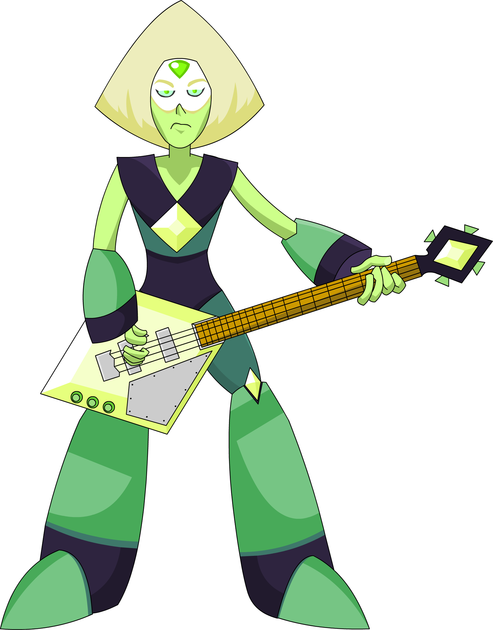 Peridot plays bass