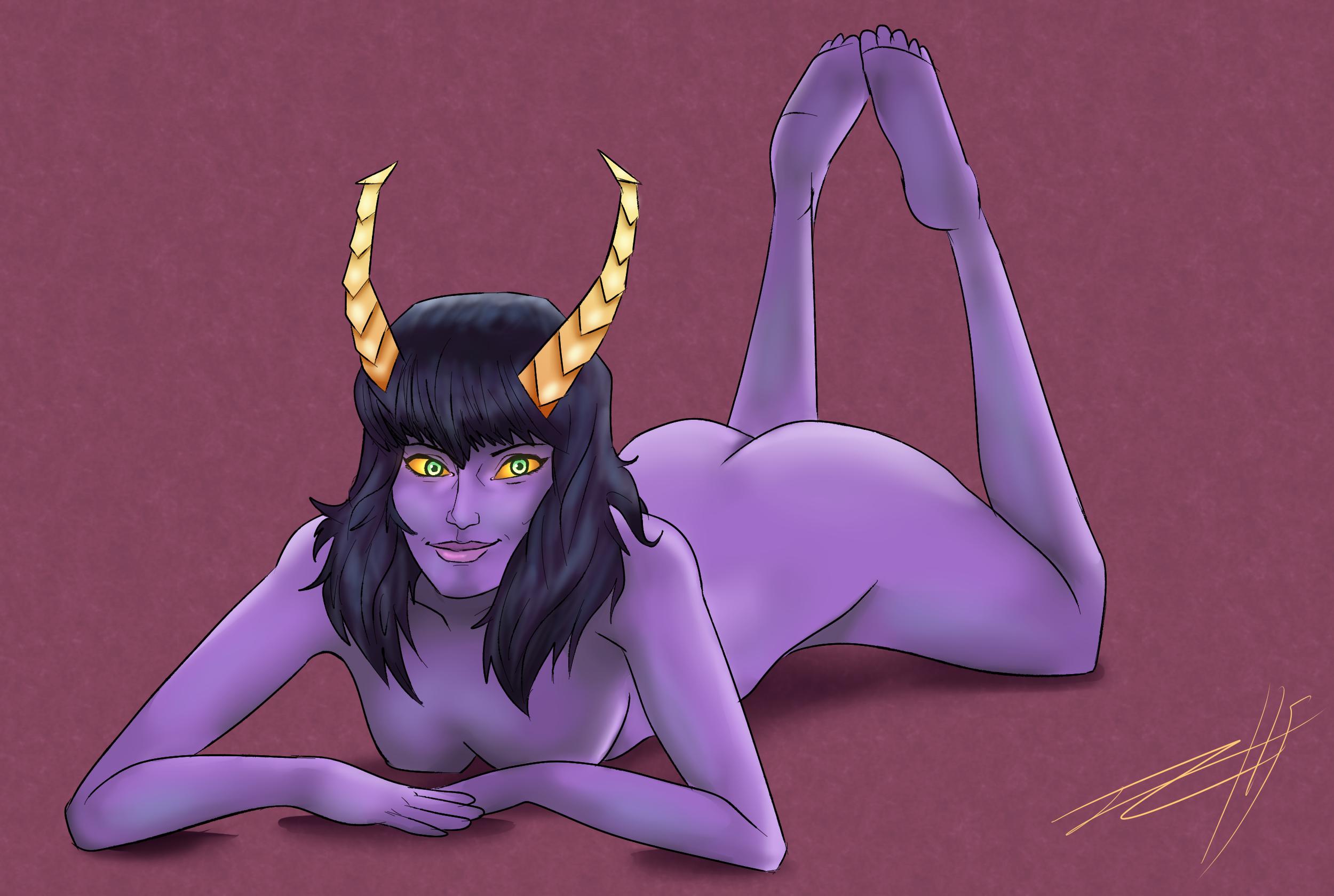 Laying down demon