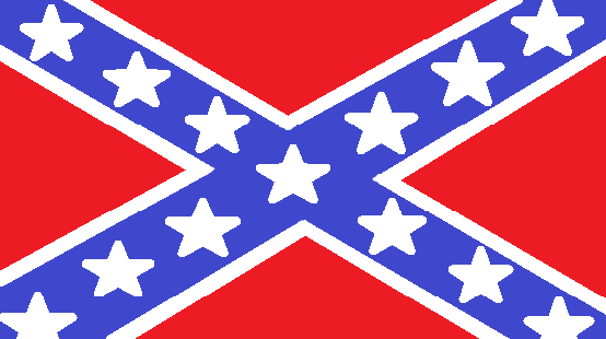 Confederate flag MS Paint