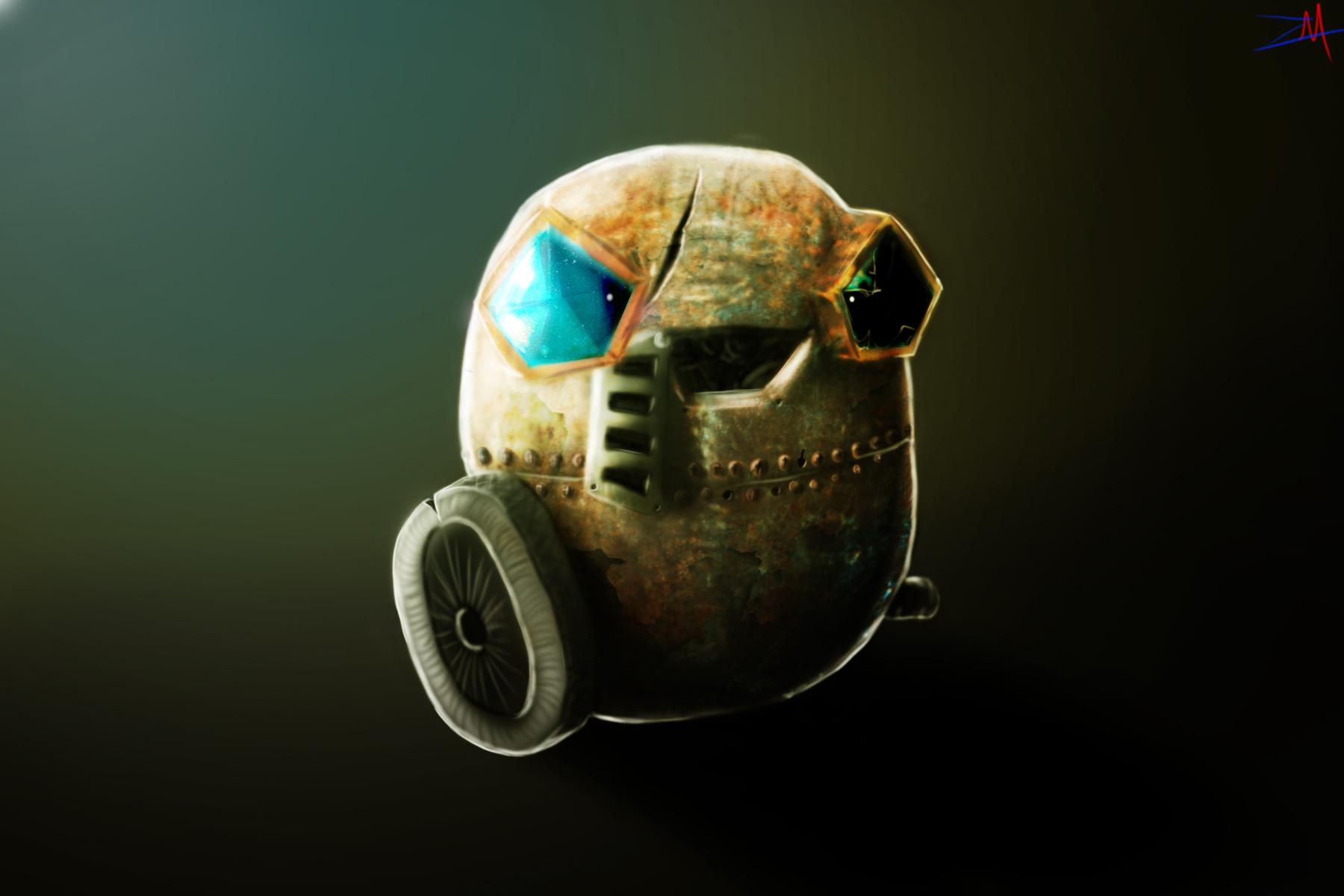 Bombernaut Rusty