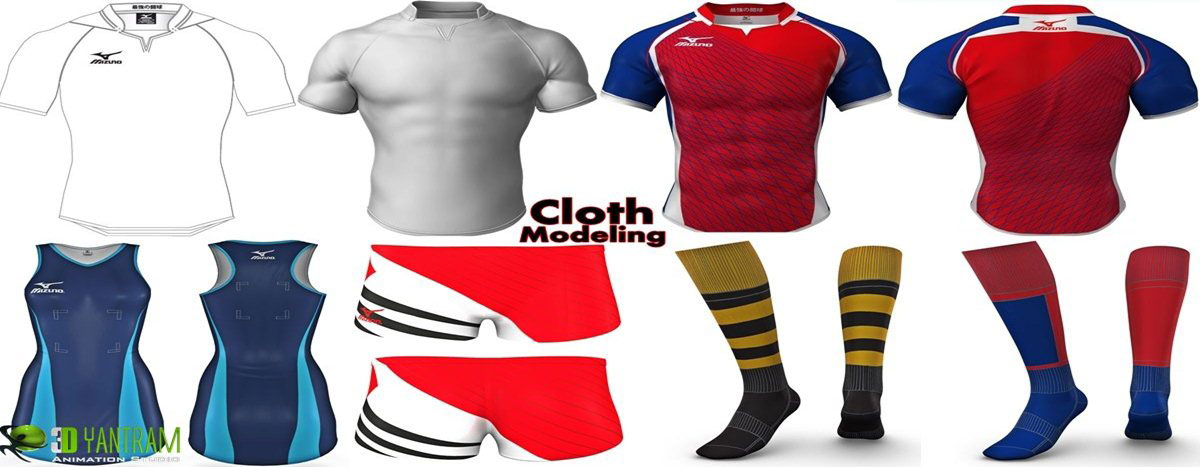 Cloth Modeling Animations