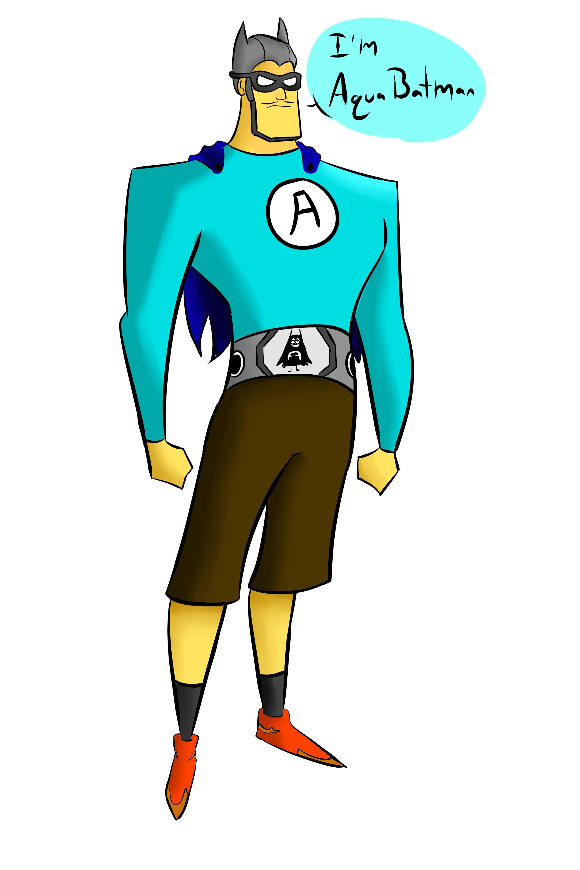AquaBat Man