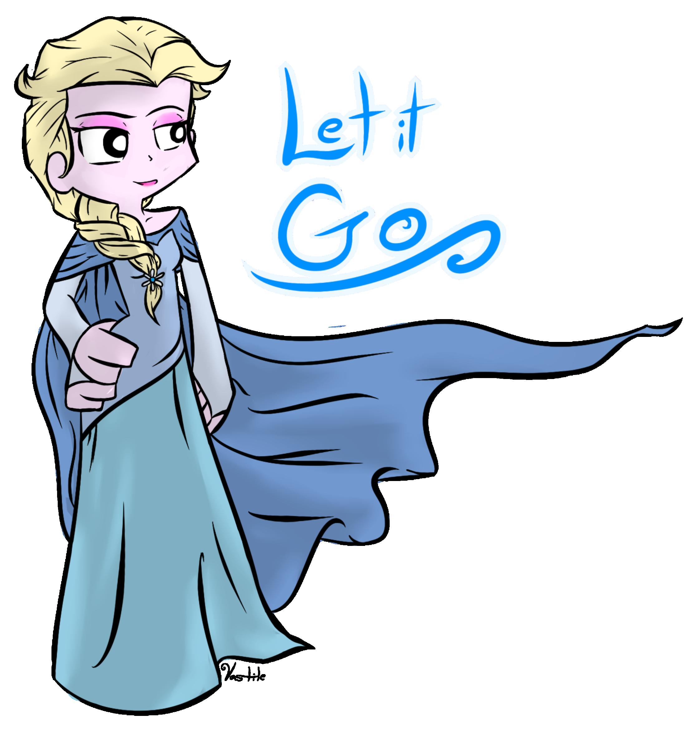 Elsa in Panty & Stocking Style
