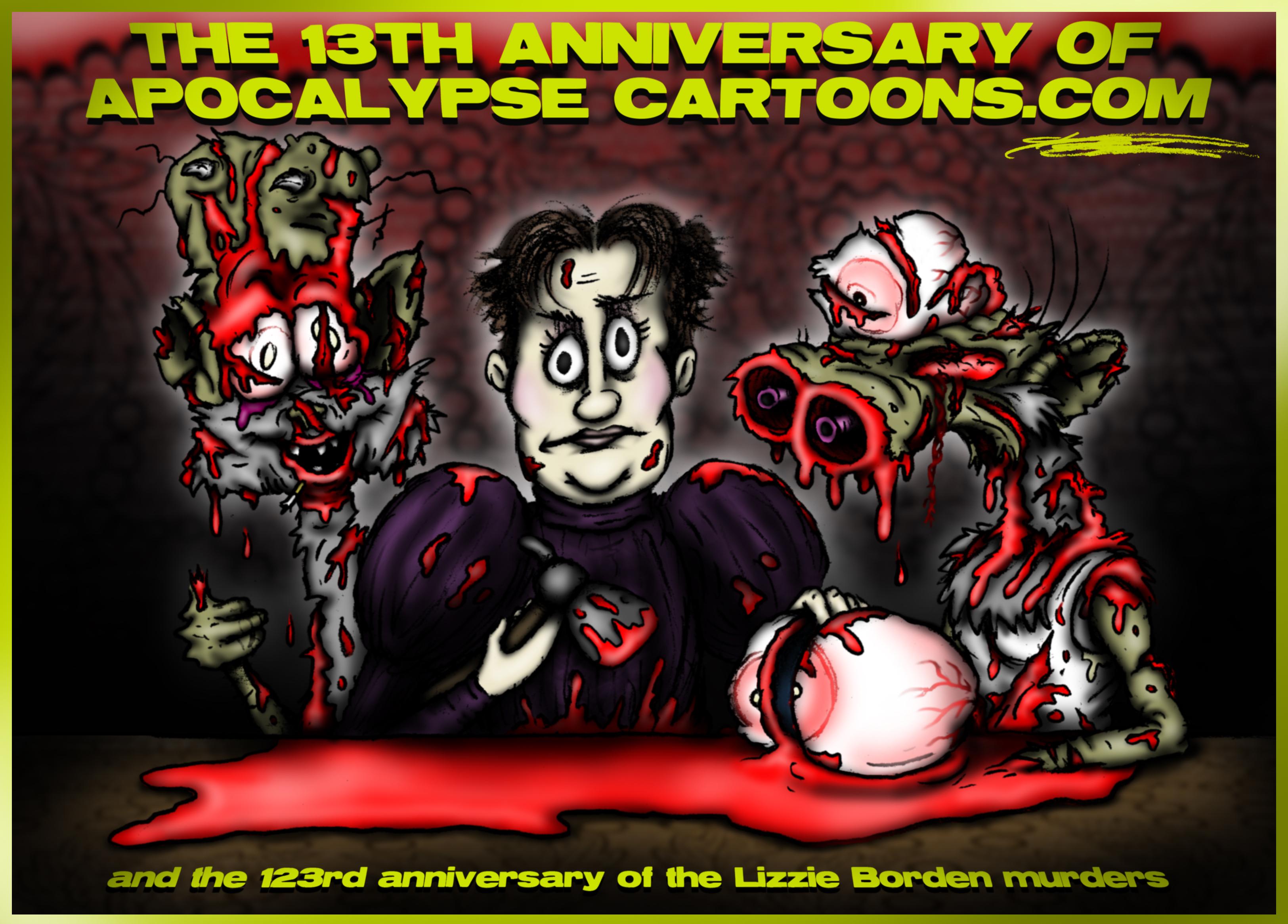 The 13th Anniversary of Apocalypse Cartoons