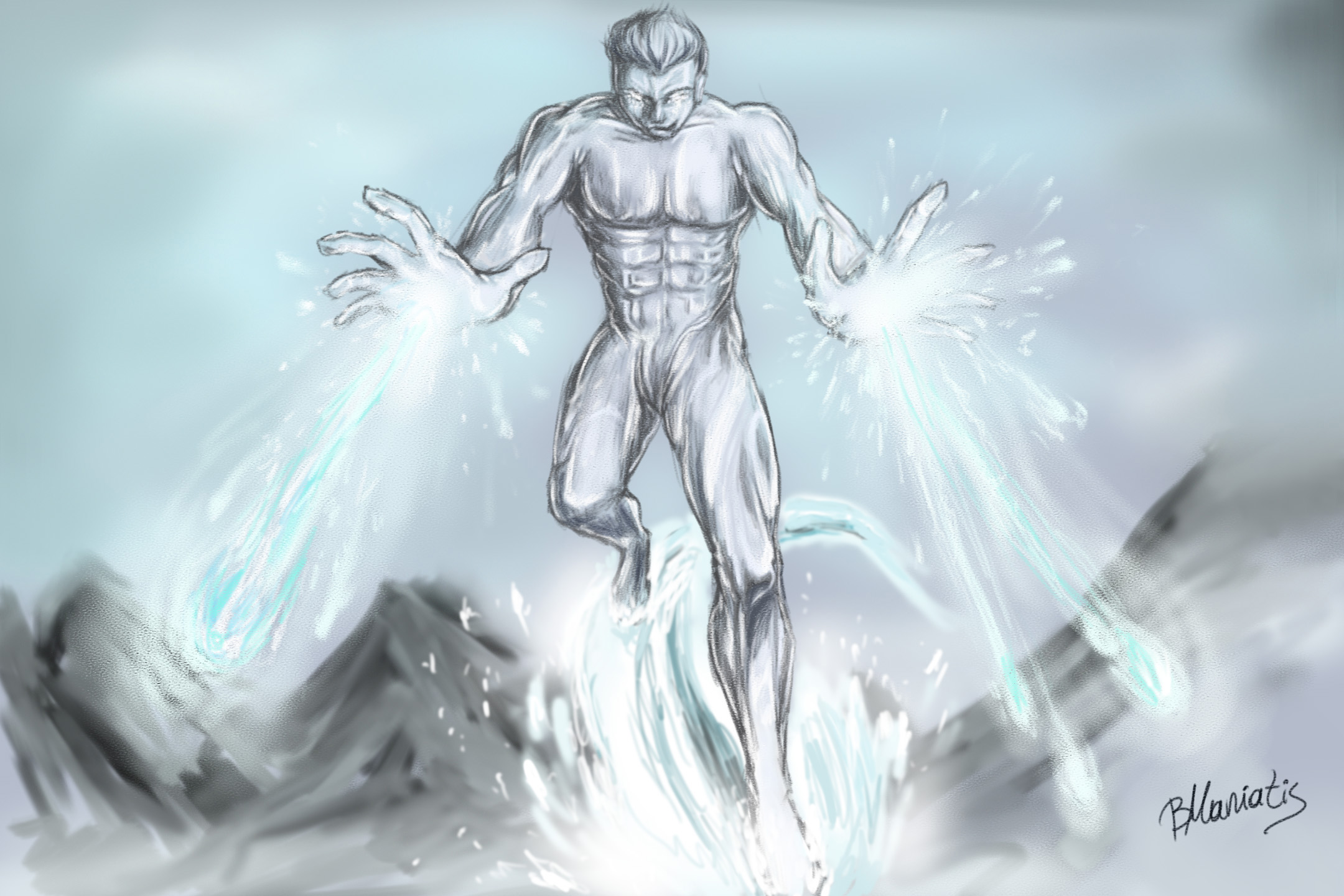 iceman sketch