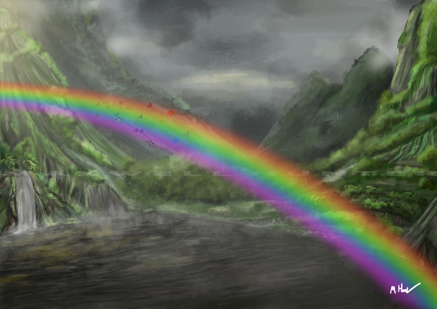 Rainbow Butterflies