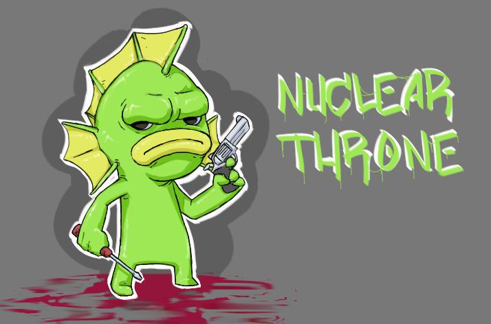 Nuclear Throne - Fish Fan Art