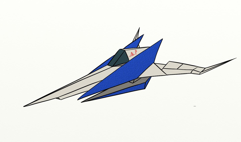 Arwing Sketch