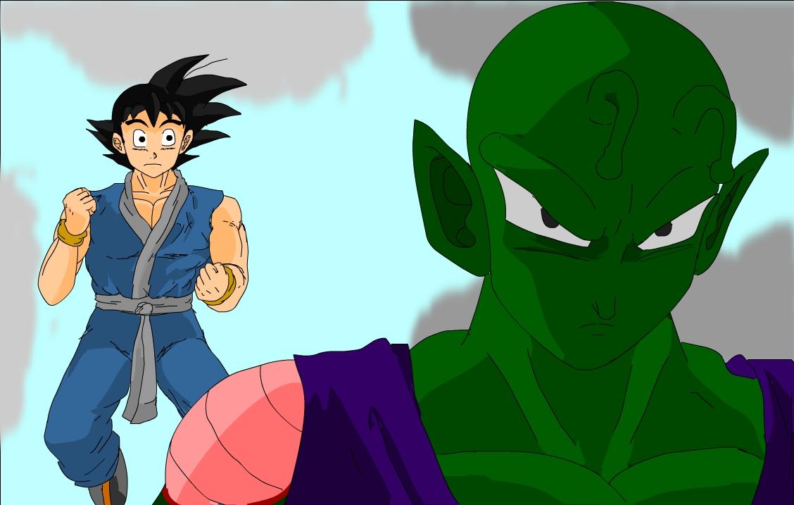 Goku and Piccolo