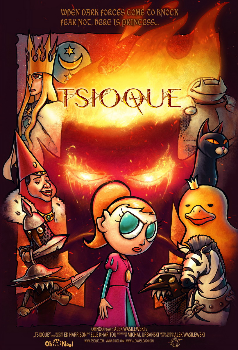 TSIOQUE promotional poster