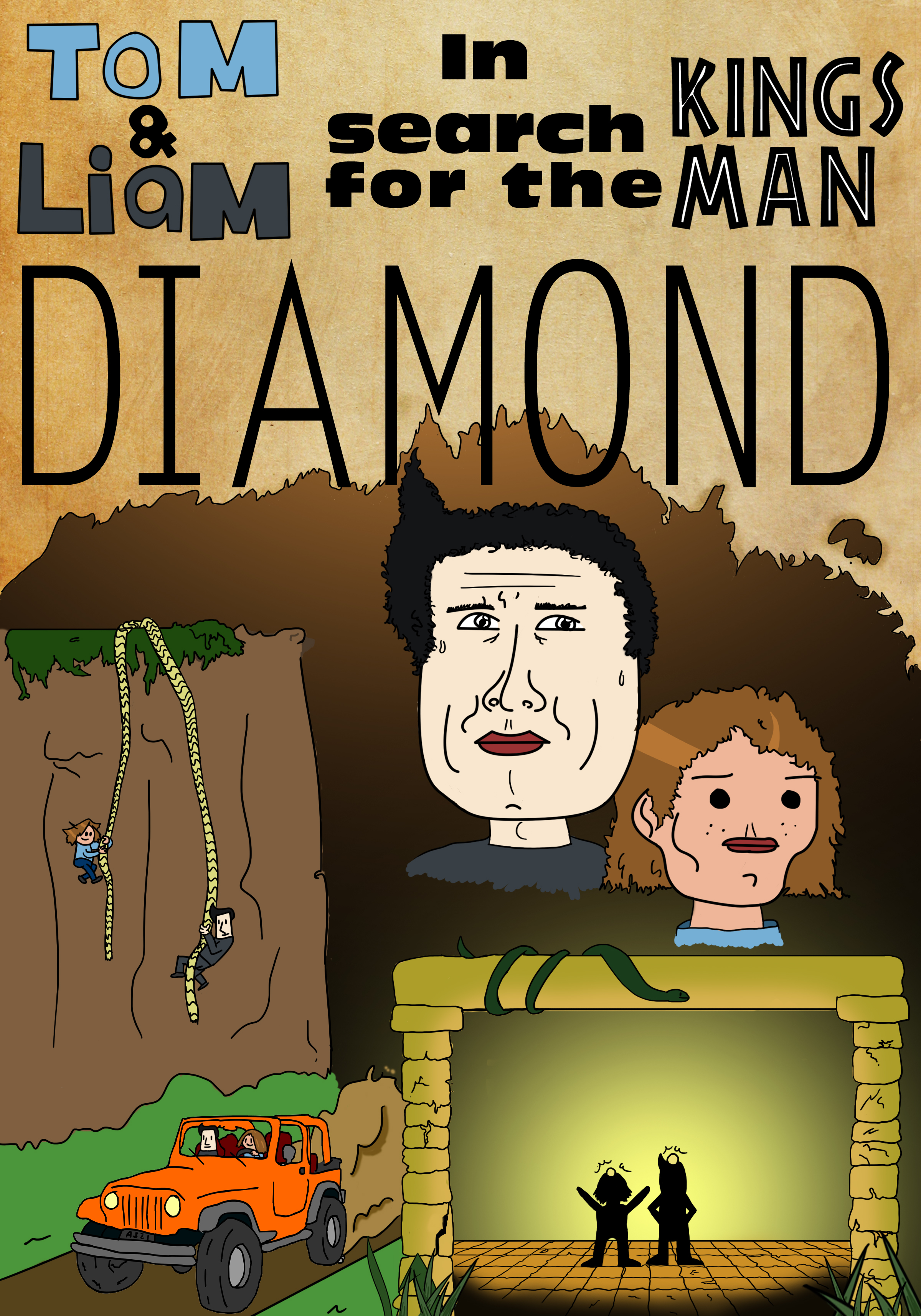 Cover art for T and L comic