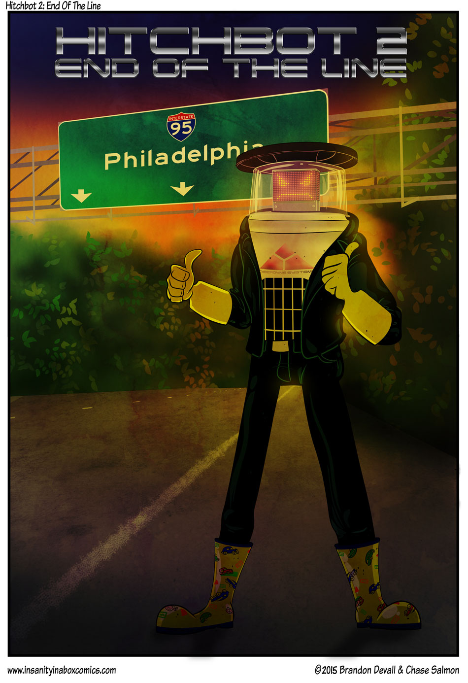 Hitchbot 2: End Of The Line