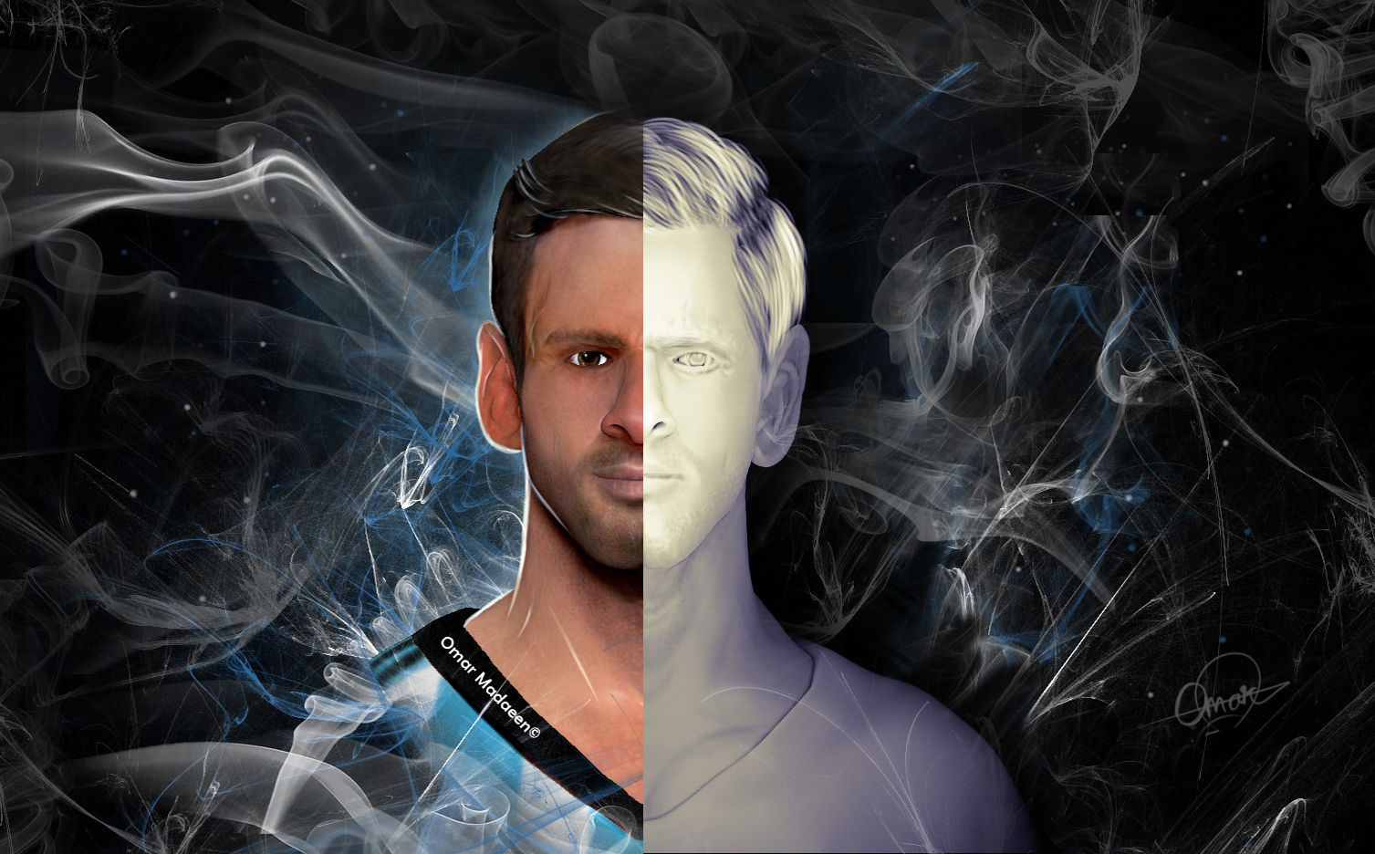 3D Leo Messi Double Face