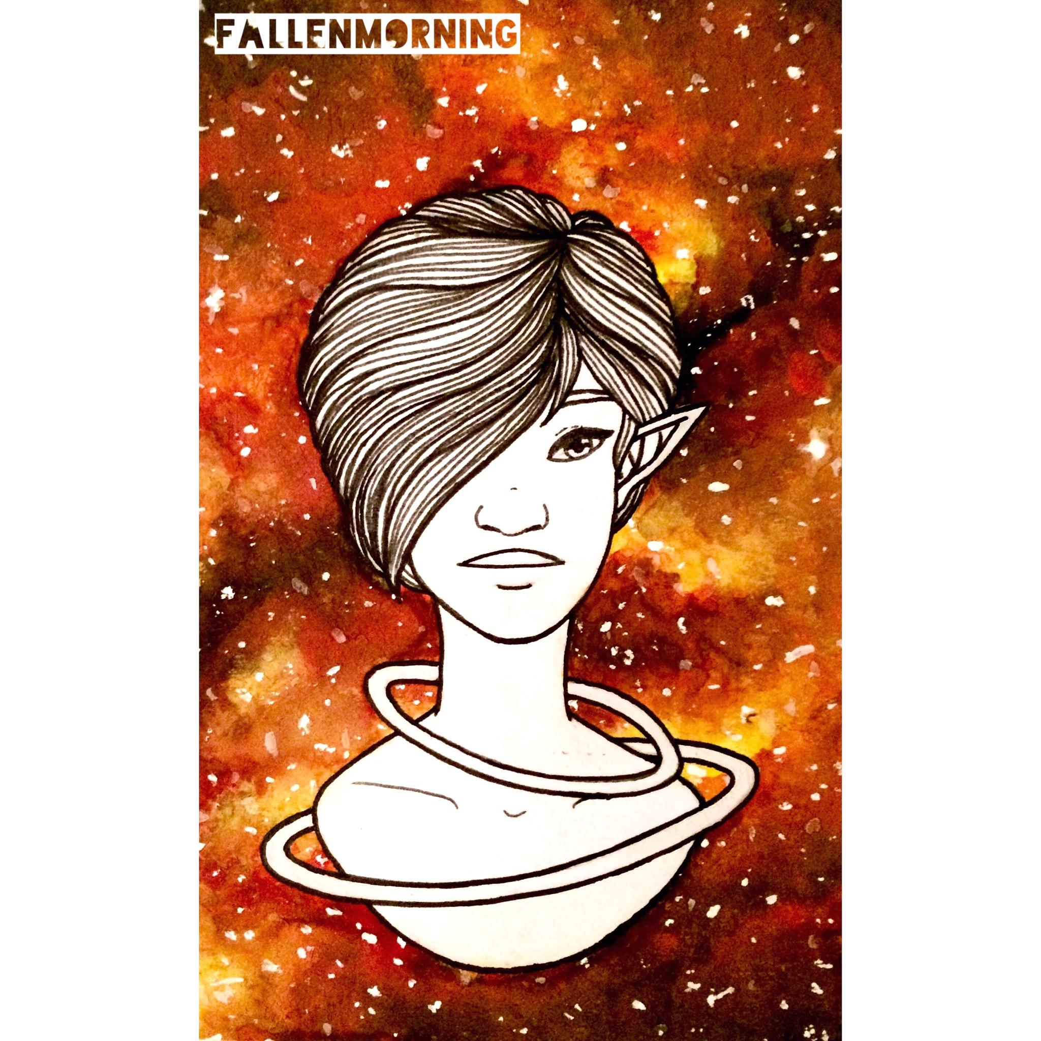 Space Elves - Orange Girl