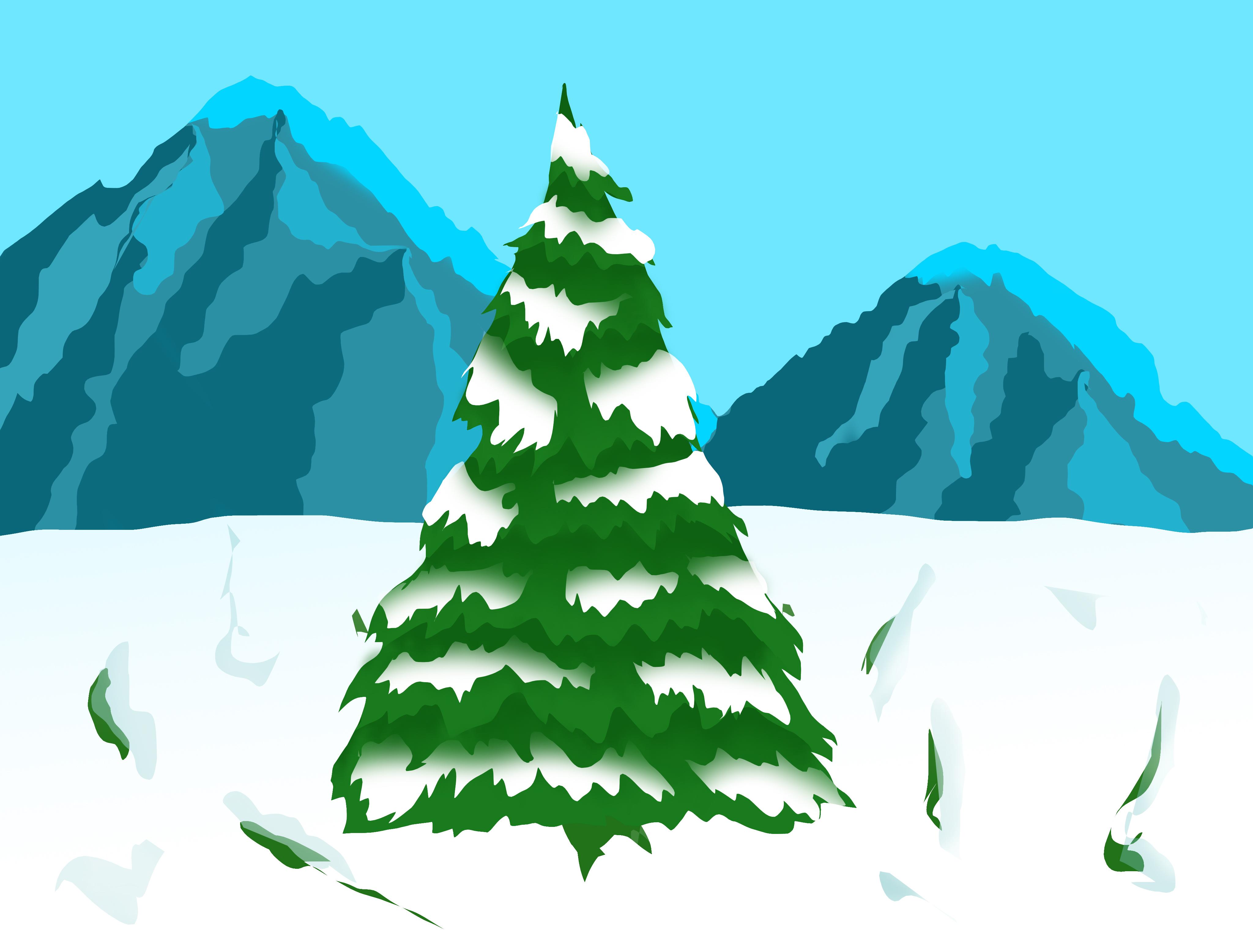Southpark Styled Christmas Tree