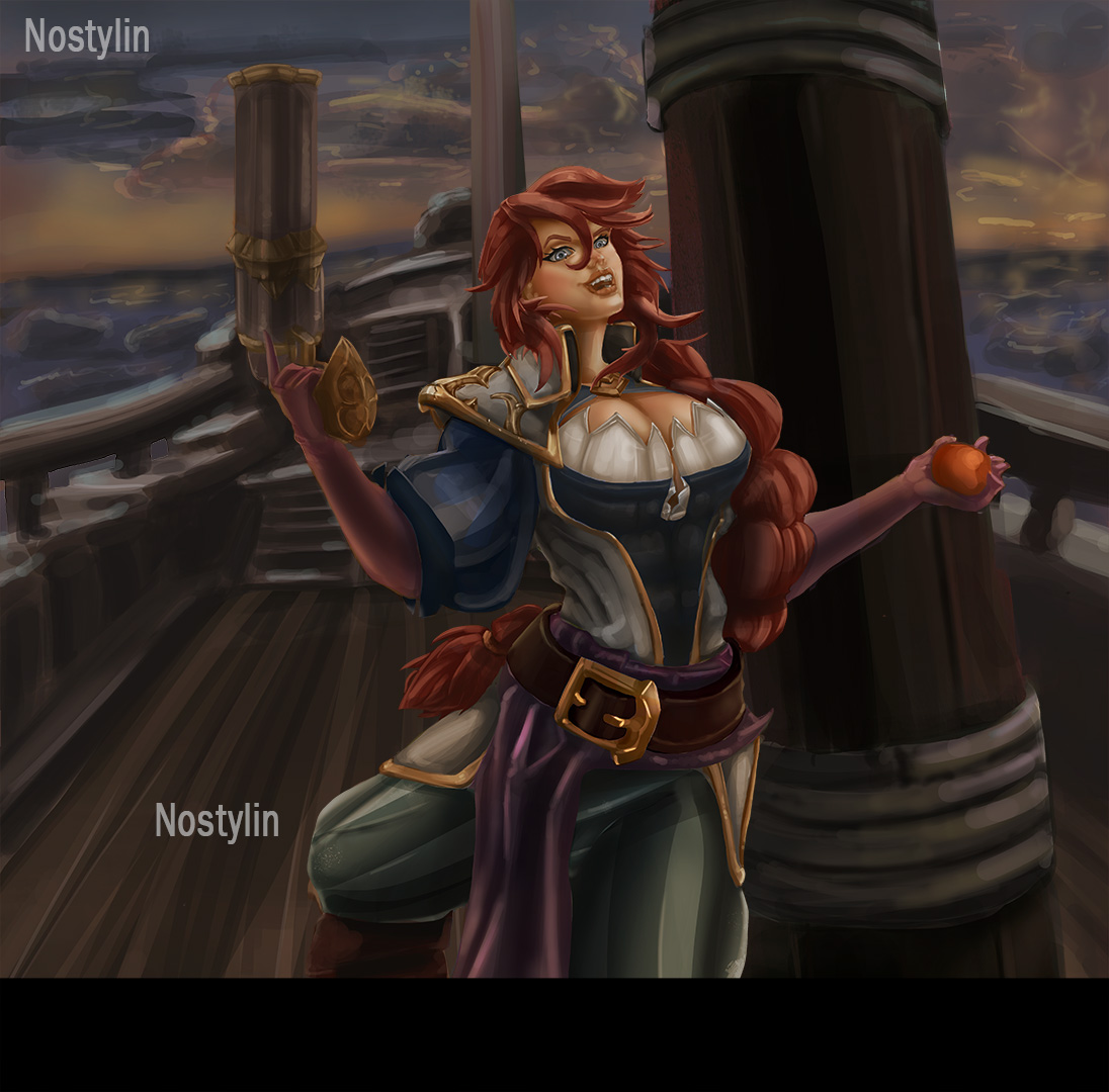 Captain Fortune From League of Legends