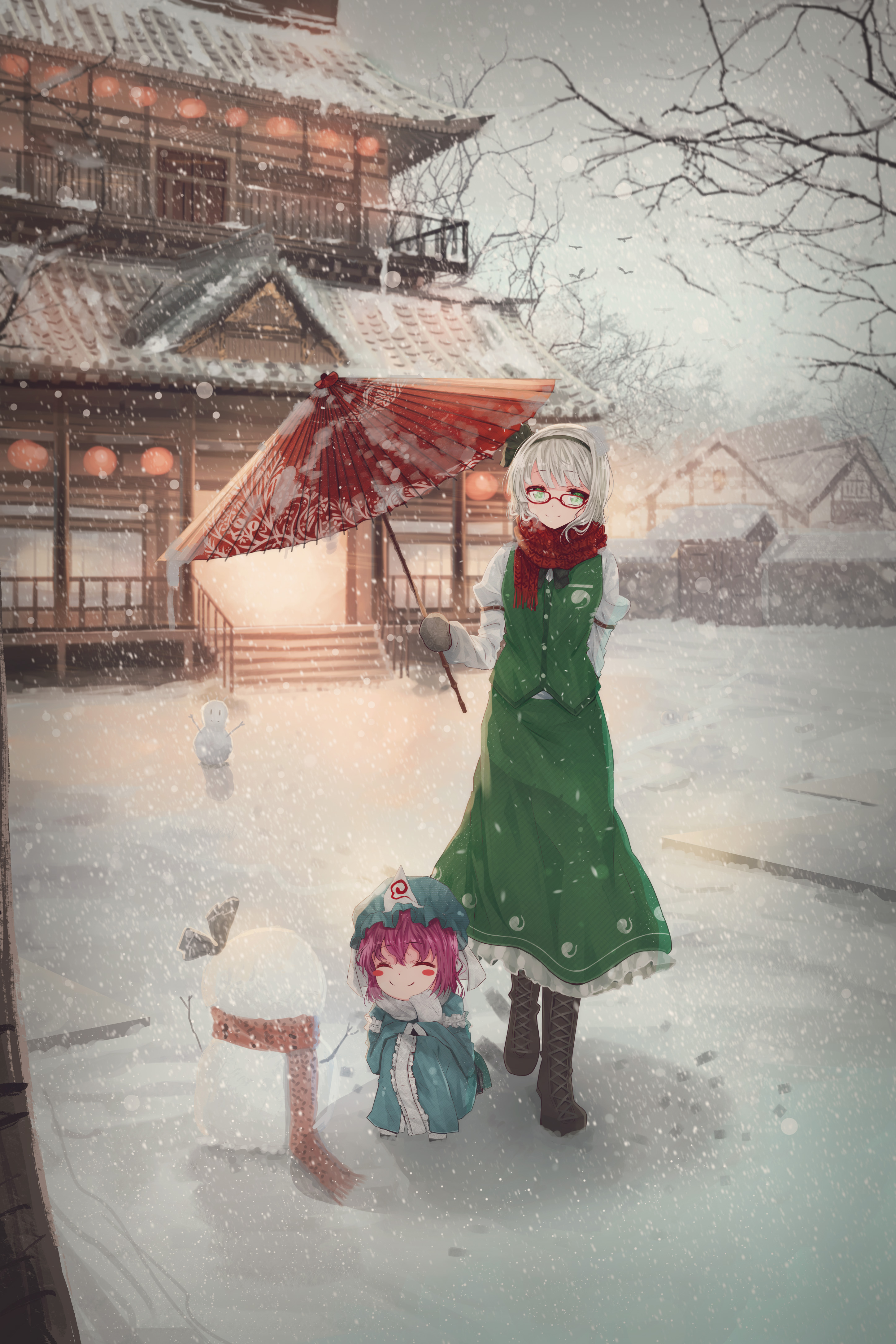 A winter day - Speedpaint #7