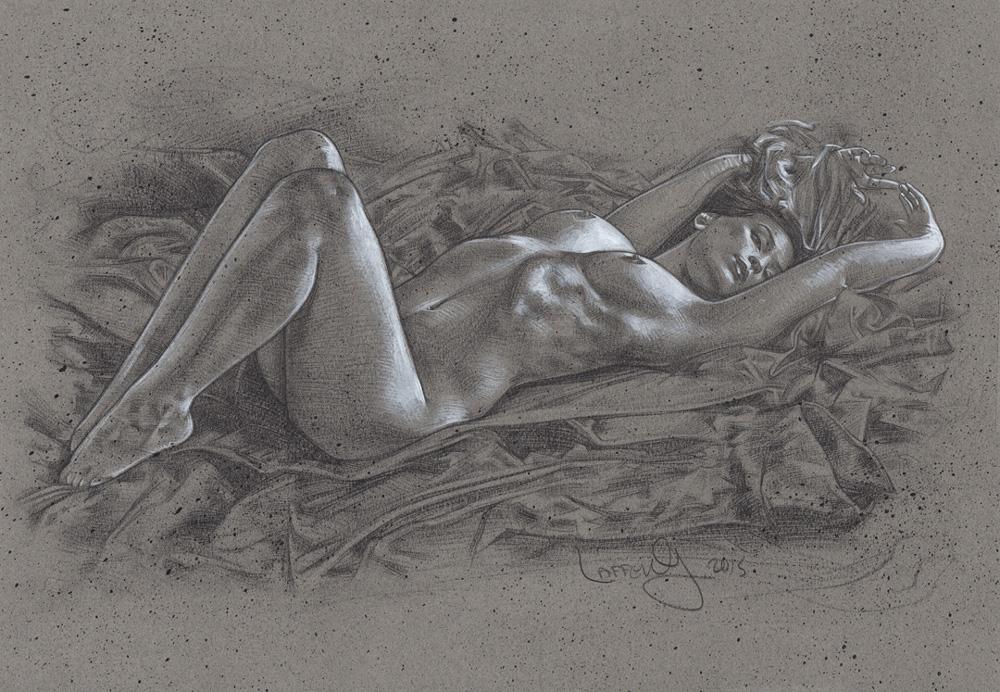 Exquisite Beauty - Nude