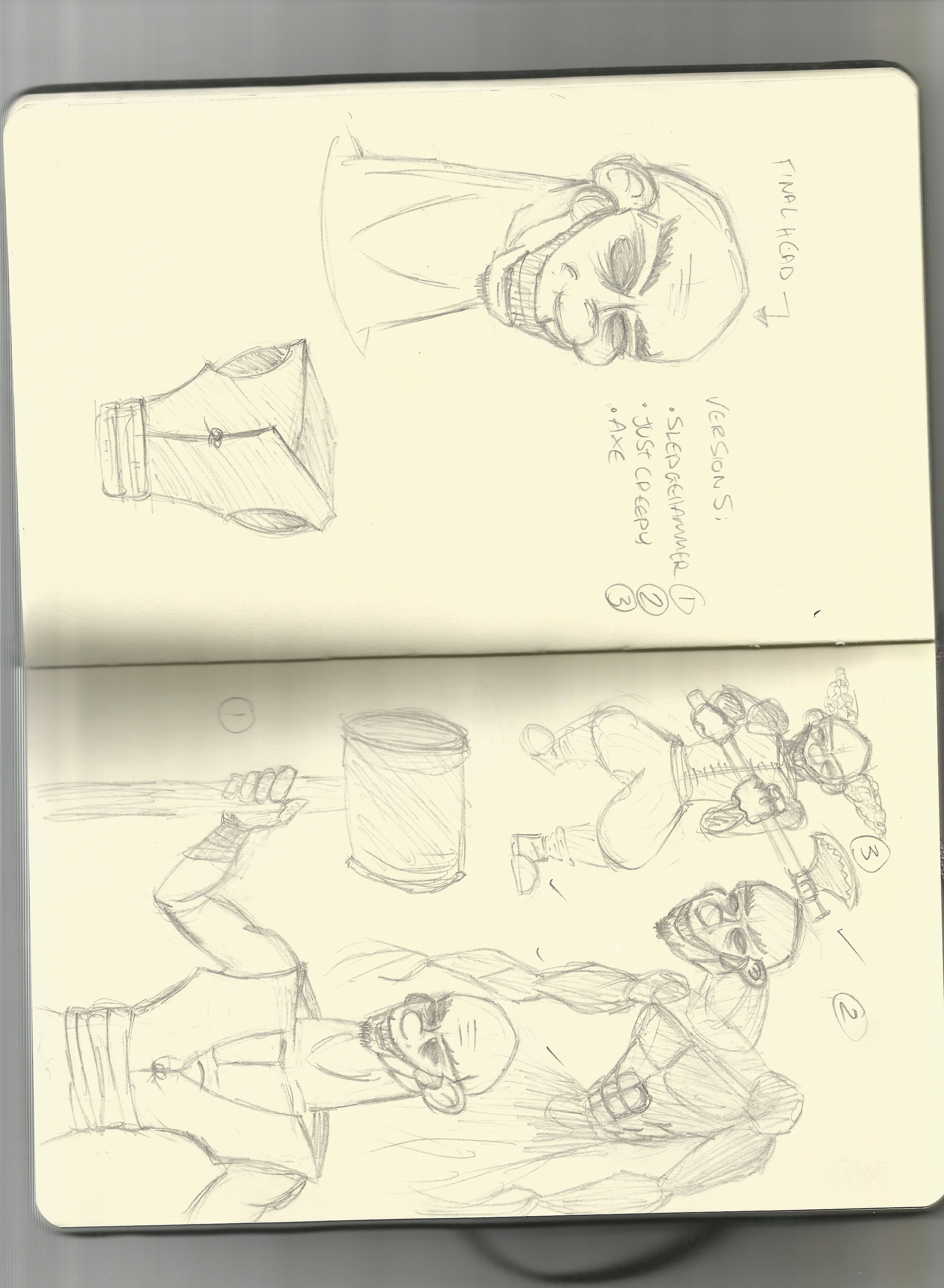 Character Design Session Part 1