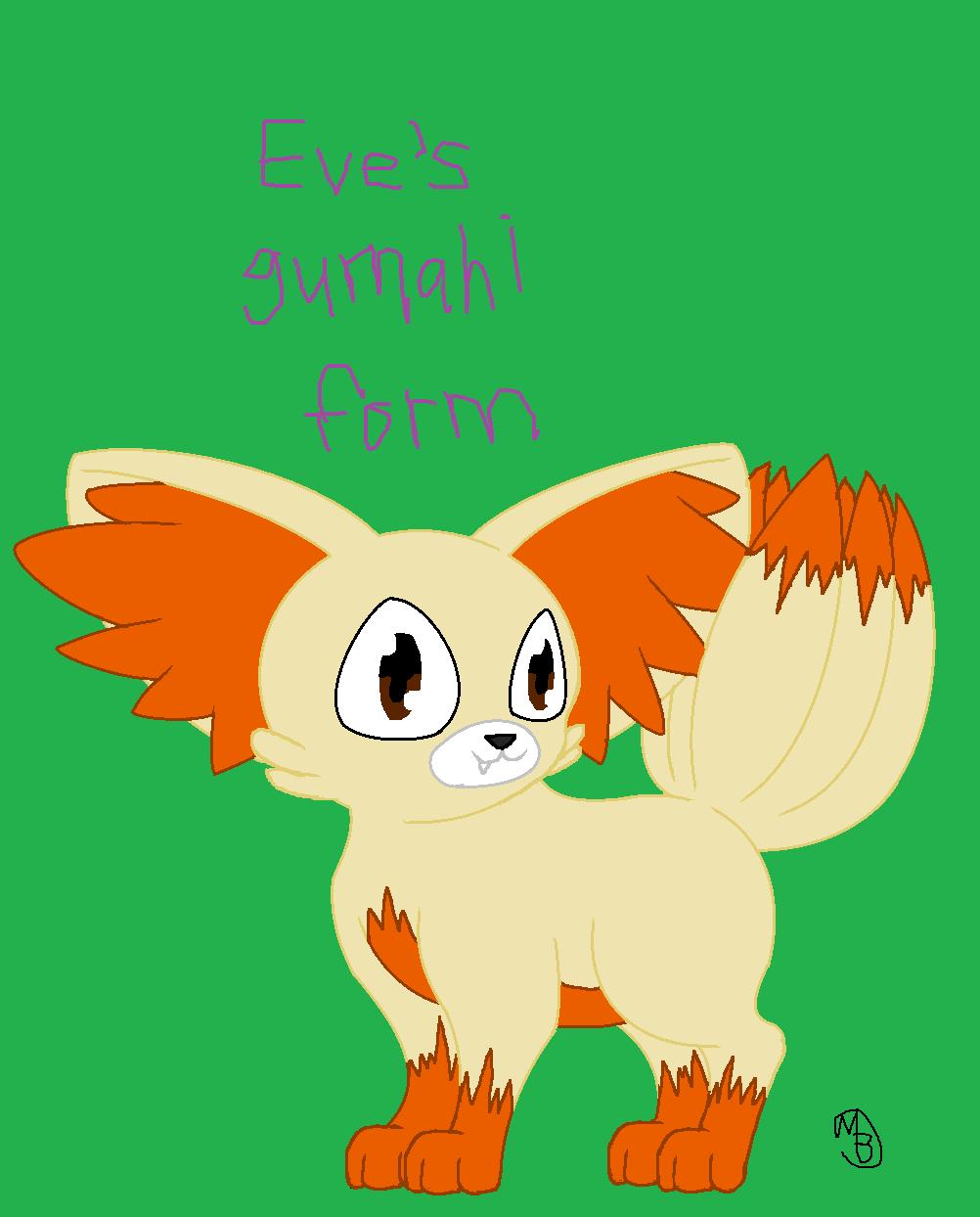 Eve's gumahi form