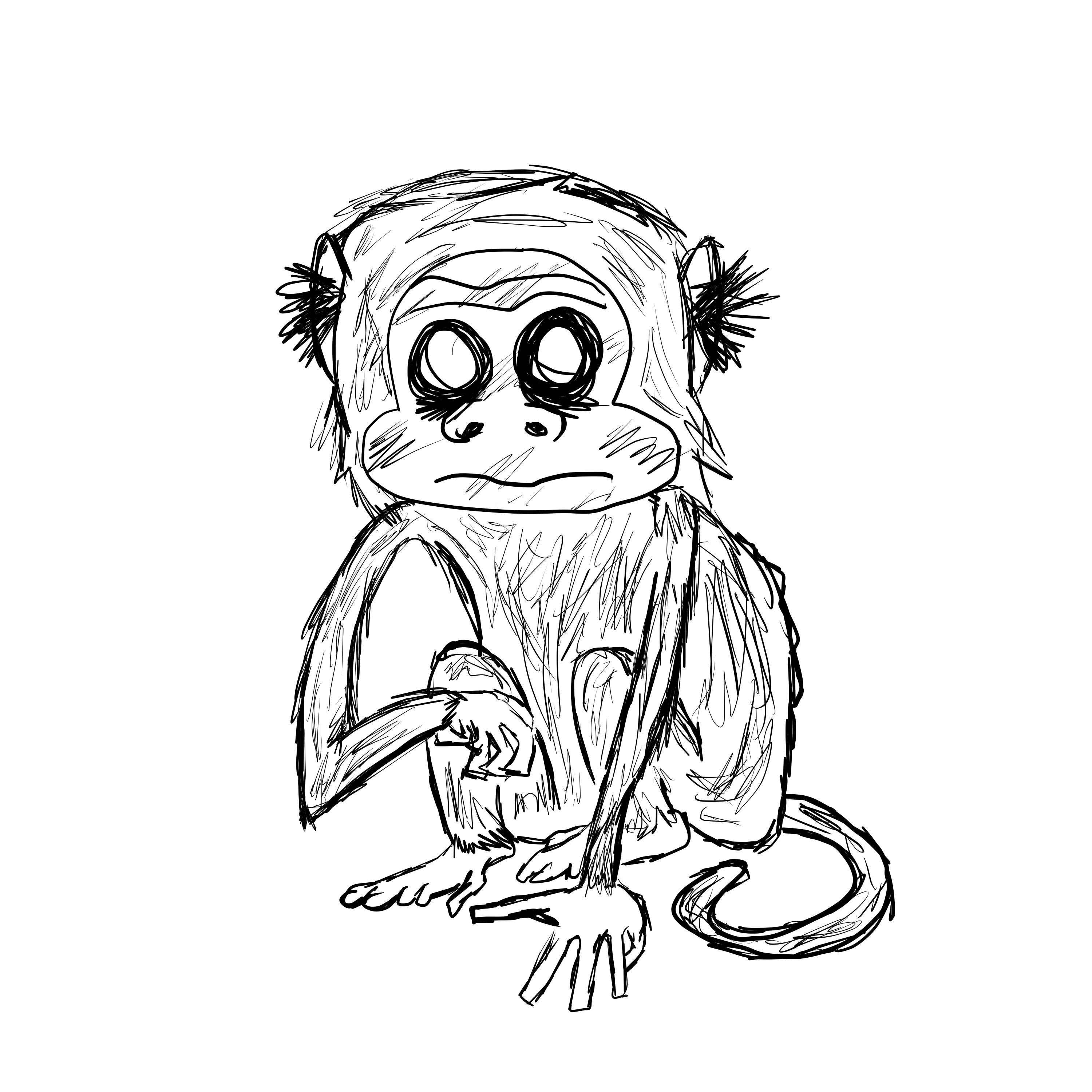 Scary Monkey By StealthyBurrito On Newgrounds