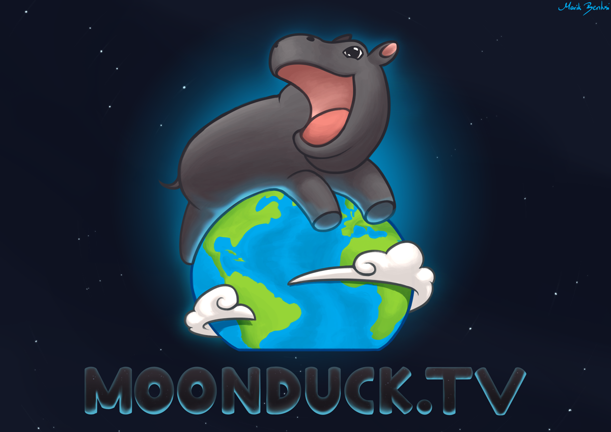Moonduck.tv Logo