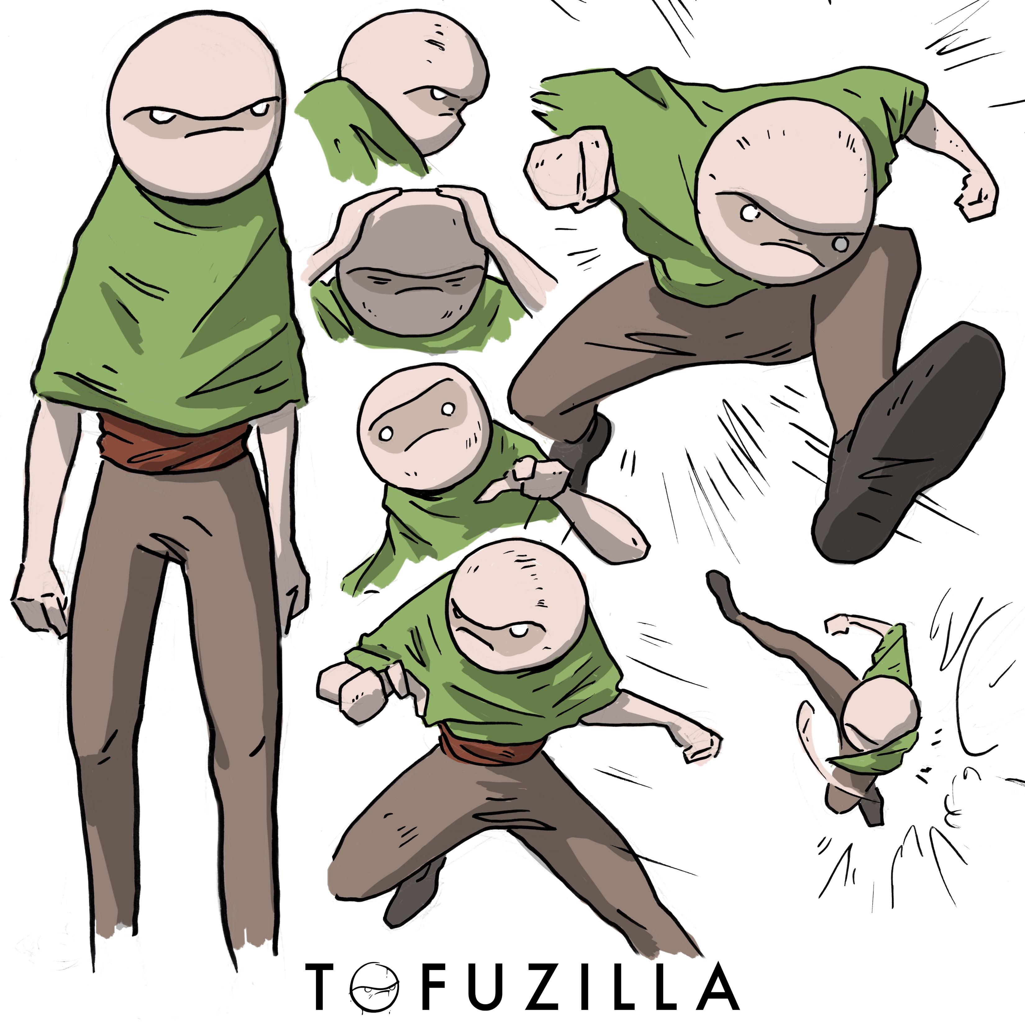 TOFUZILLA I Character Sheet 2