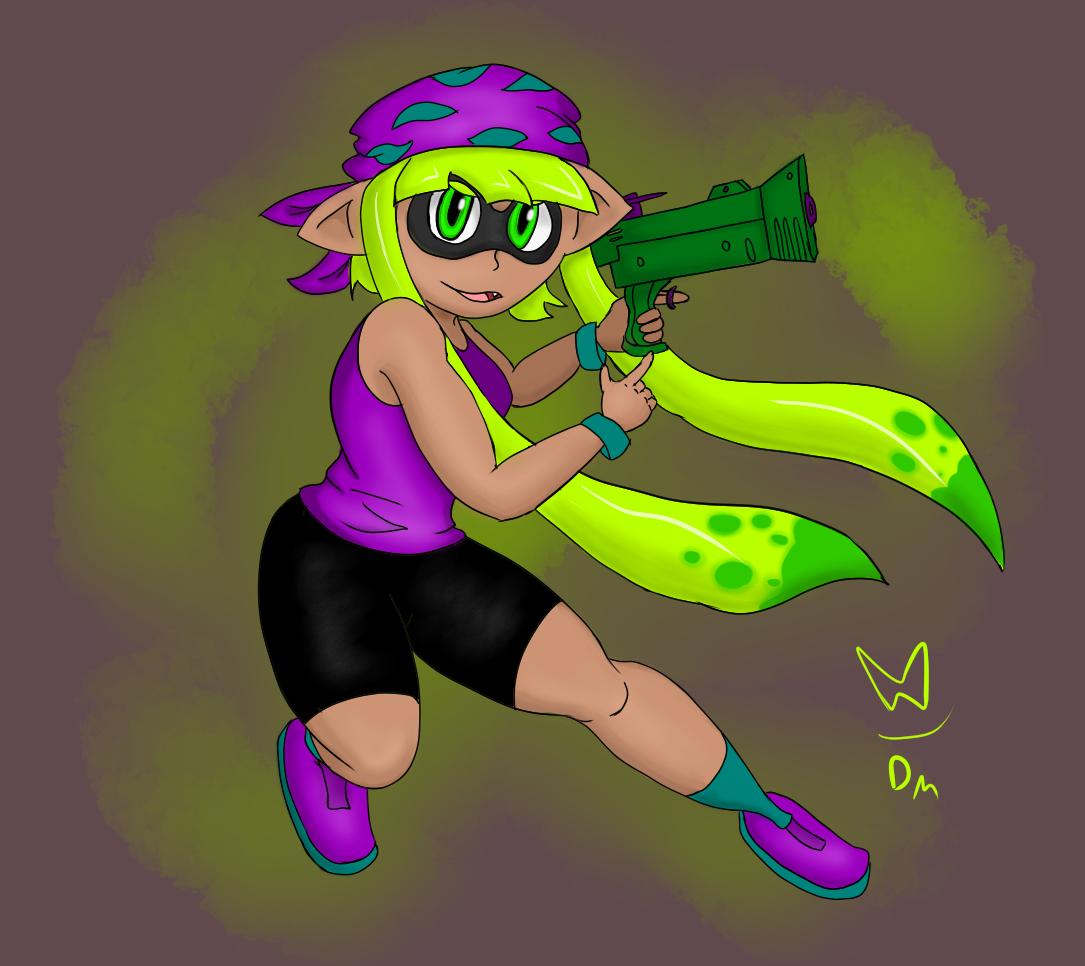 Squid Kid #2