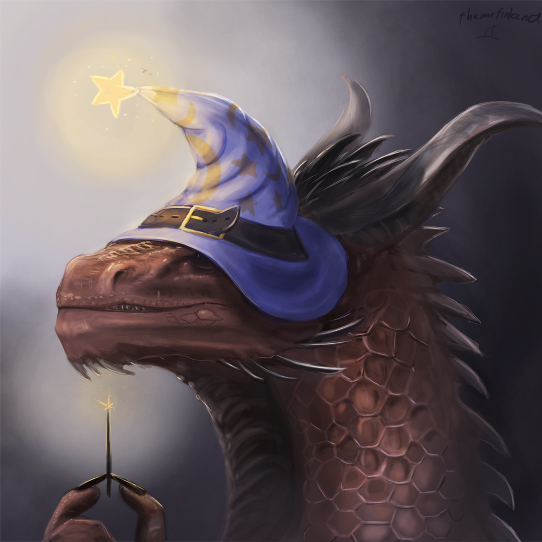 Magical dragon of badassery