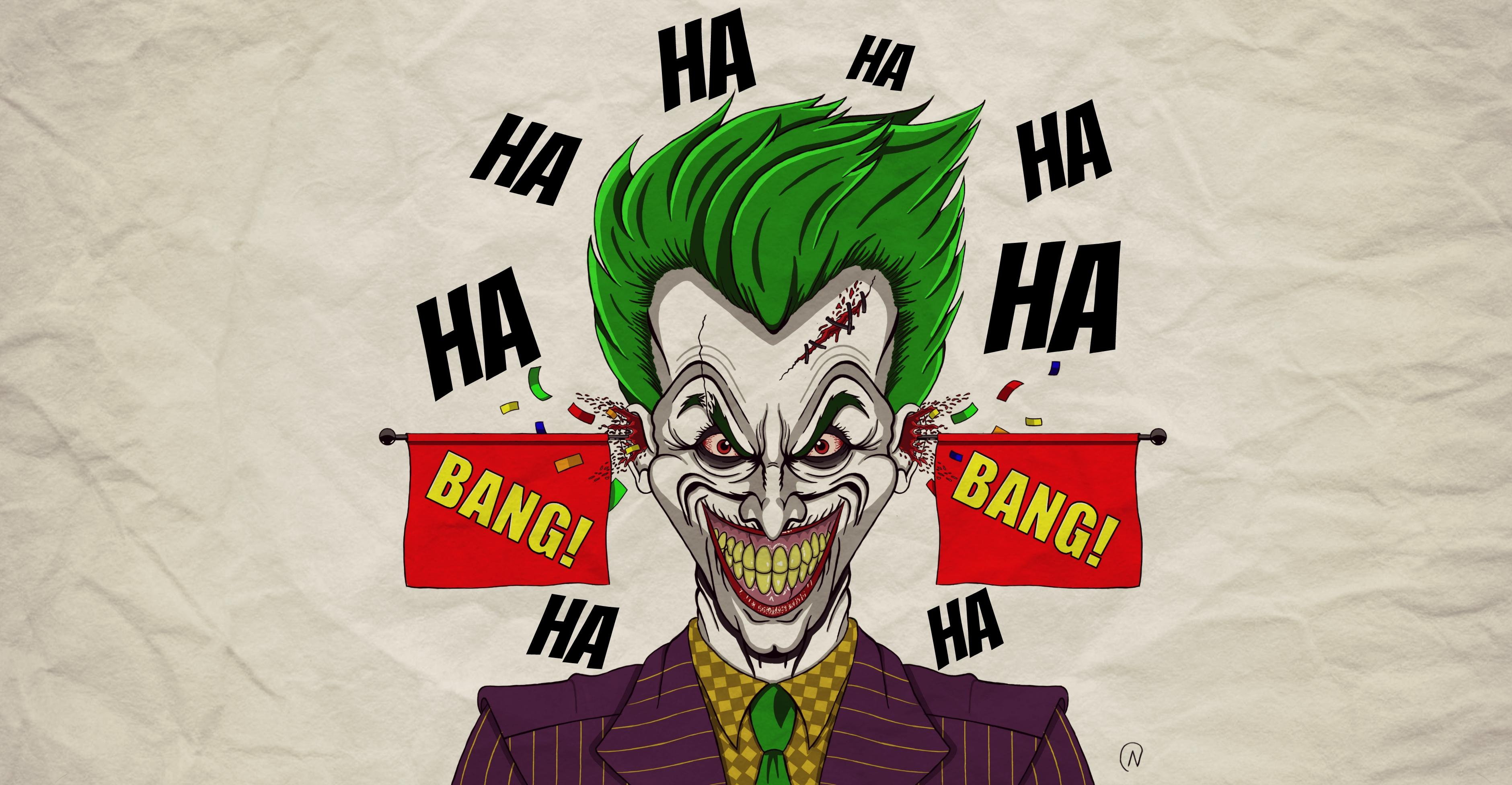 It's a joke! (Joker)