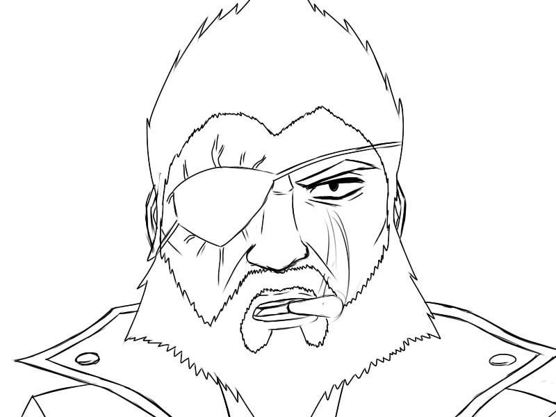 Rex's Portrait Sketch WIP