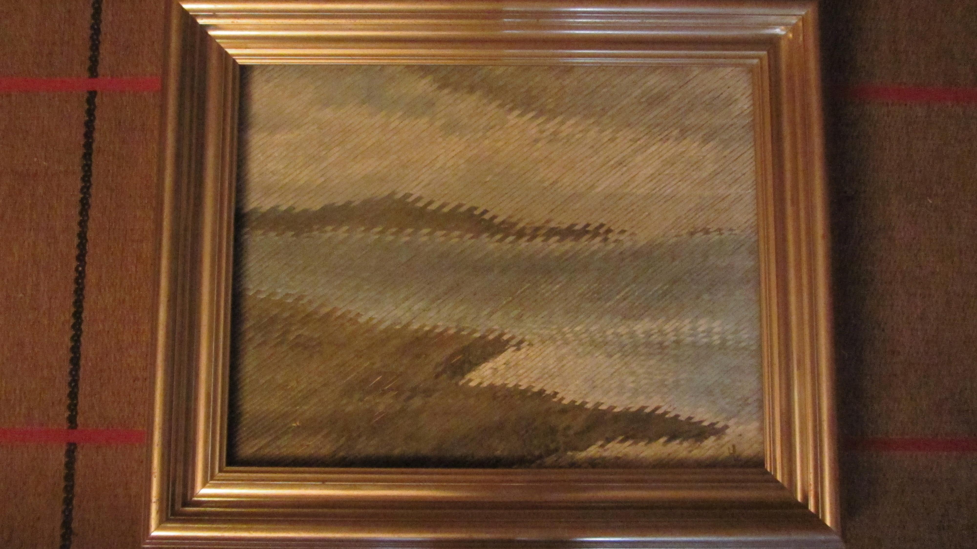 Oil on canvas, MARINE