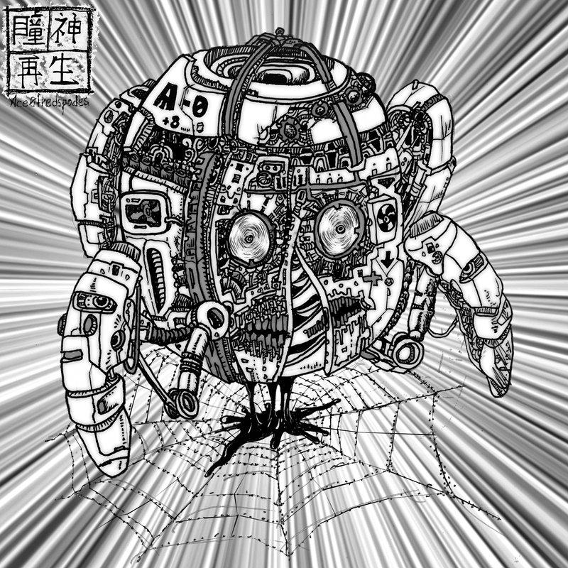 Manga spider