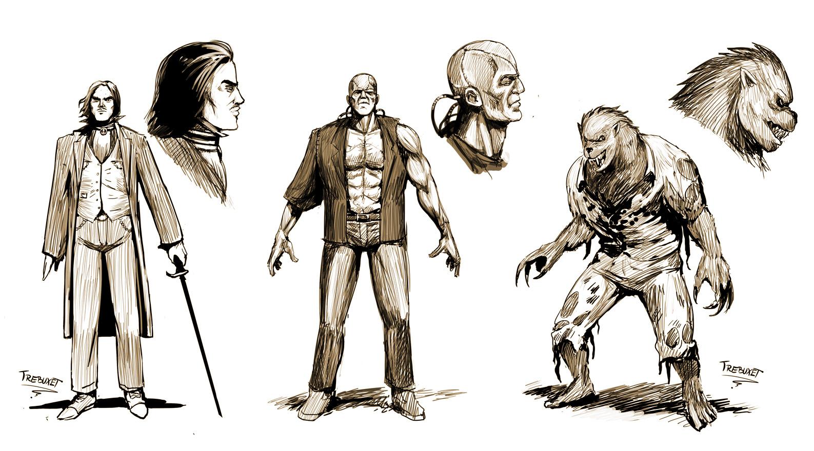 Horror Game Concept Art 1